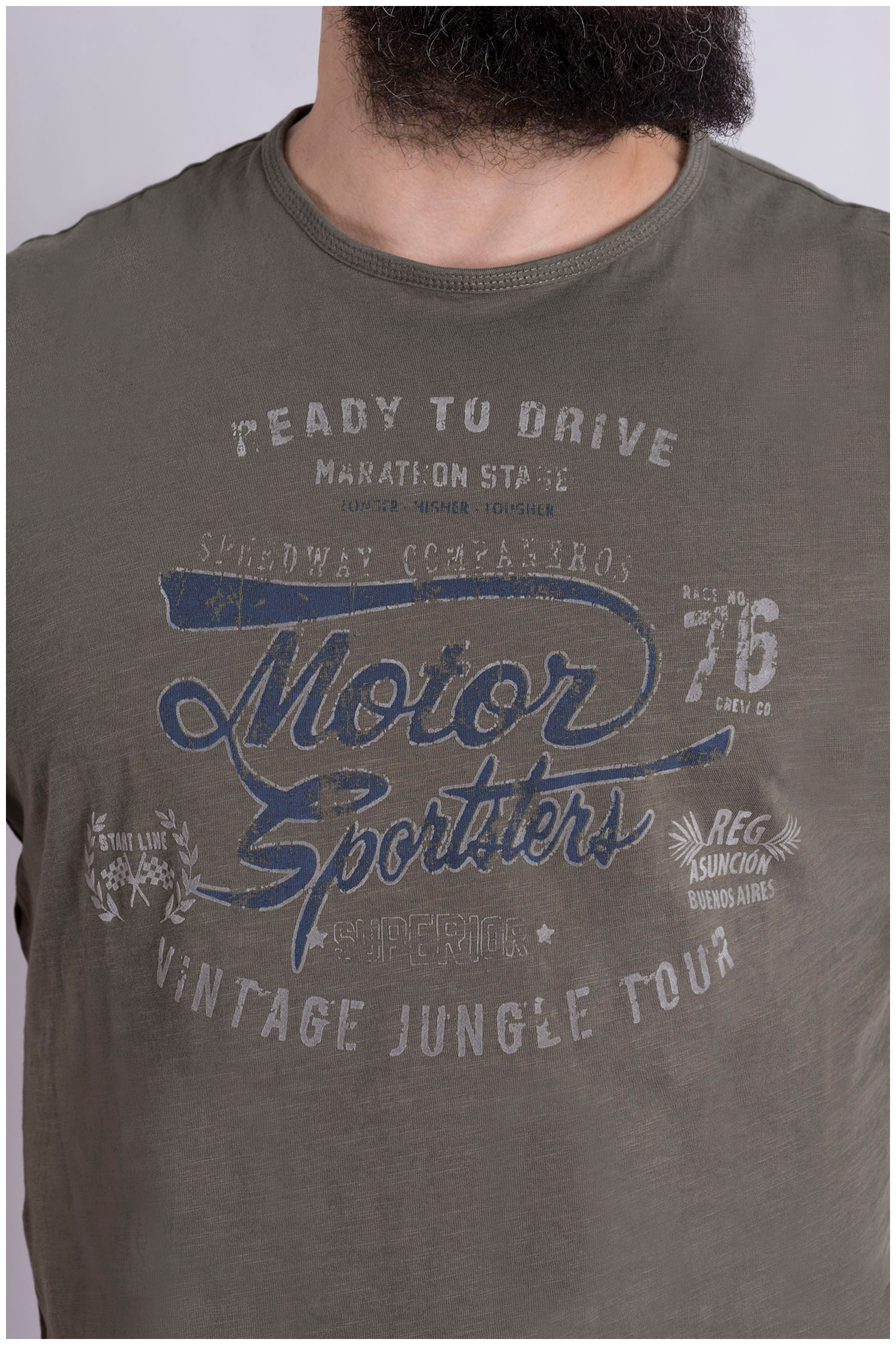 Sport, Camisetas M. Corta, 109021, KAKI | Zoom