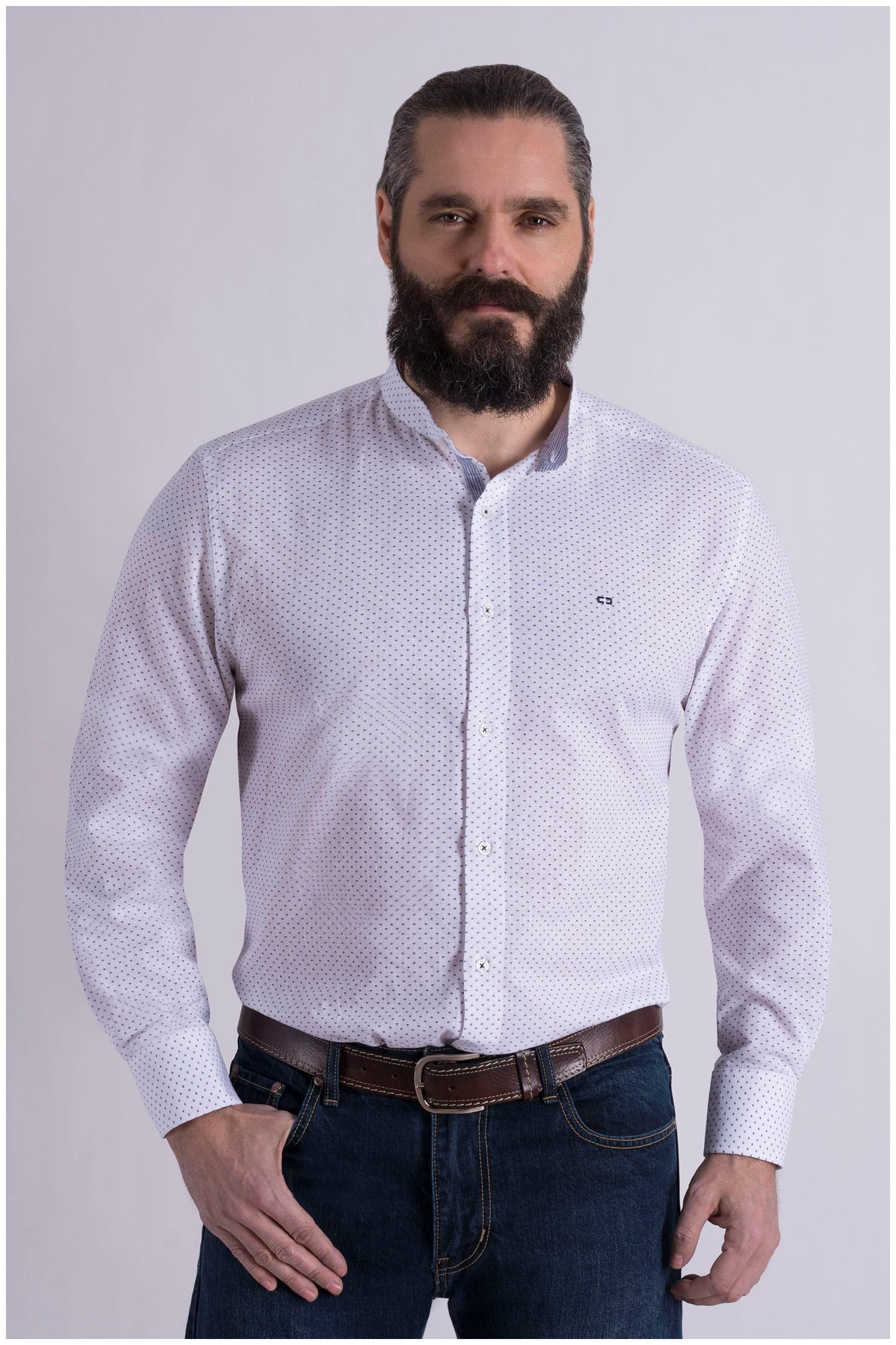 Camisas, Sport Manga Larga, 109041, BLANCO | Zoom