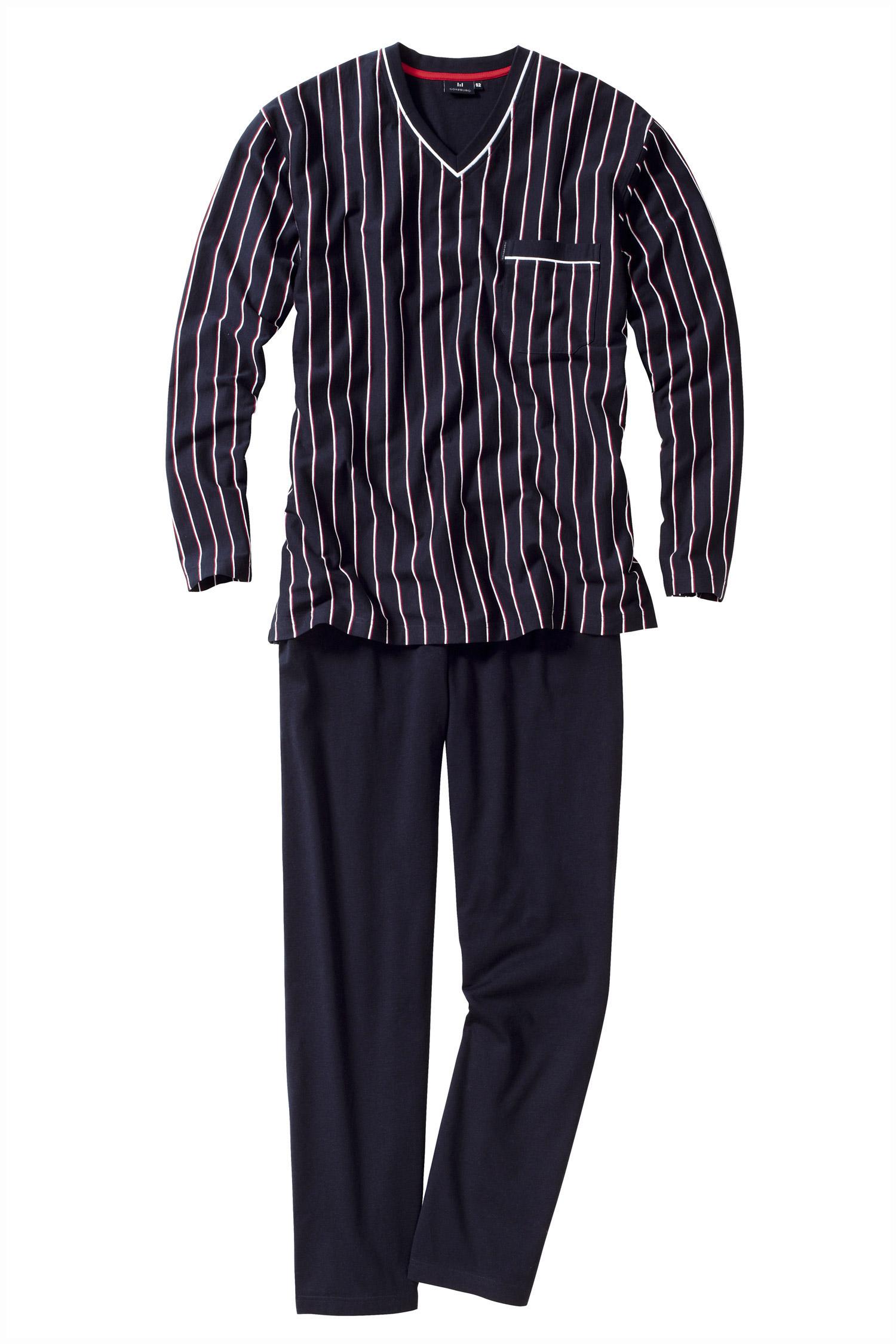 Homewear, Pijama M. Larga, 109114, MARINO | Zoom