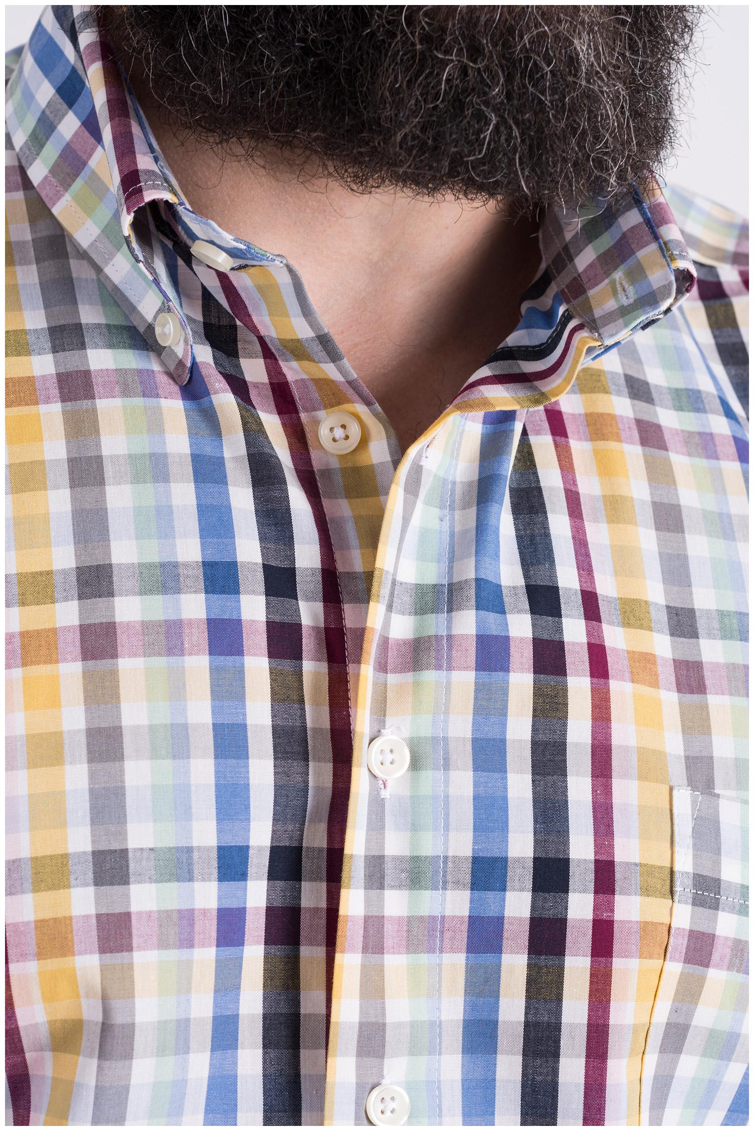 Camisas, Sport Manga Corta, 109119, BEIGE | Zoom