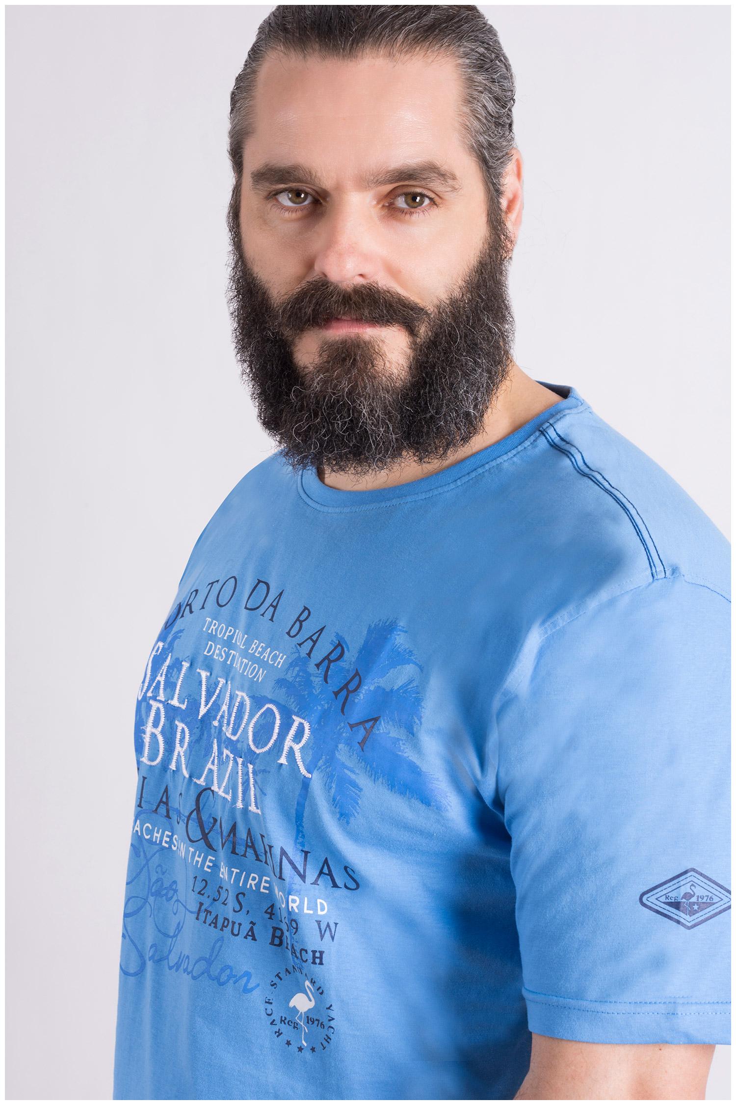 Camisas, Sport Manga Corta, 109121, CELESTE | Zoom