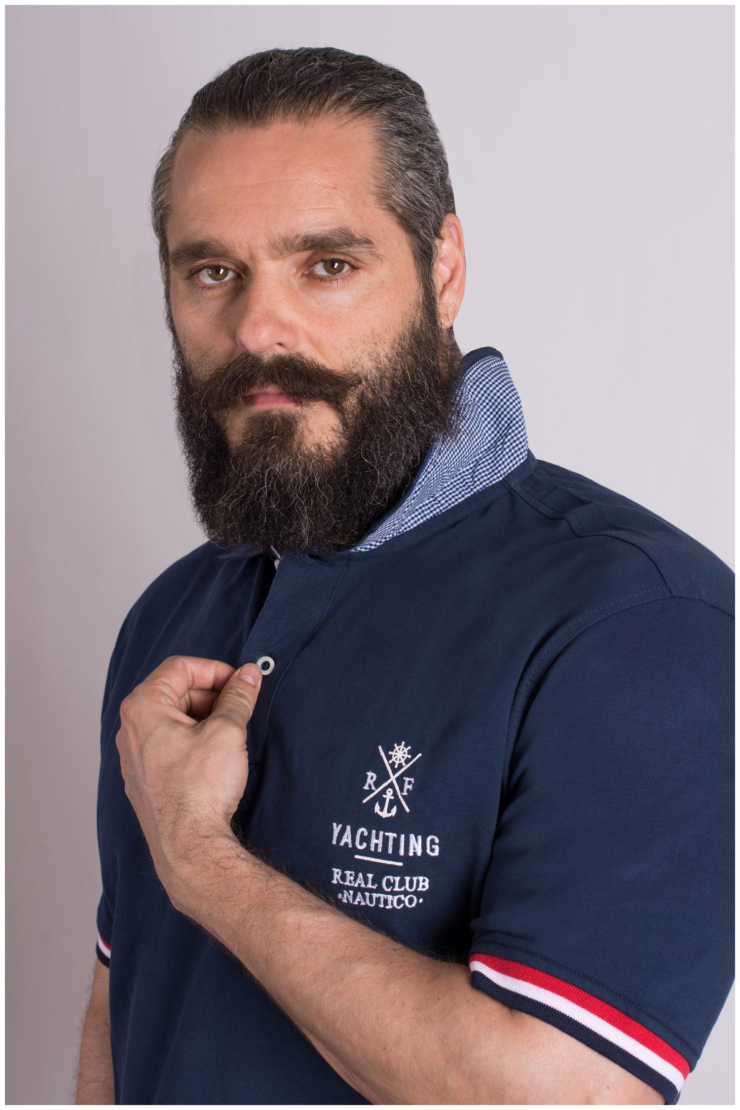 Sport, Polos M. Corta, 109145, MARINO | Zoom