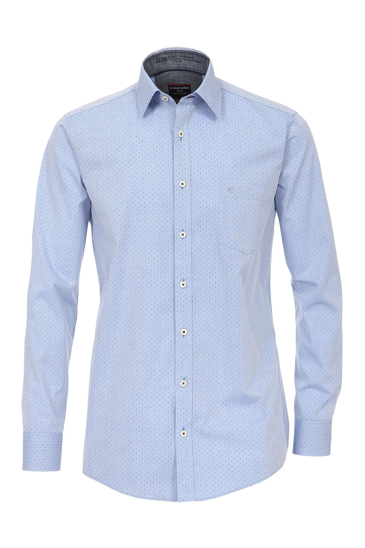 Camisas, Vestir Manga Larga, 109220, CELESTE | Zoom