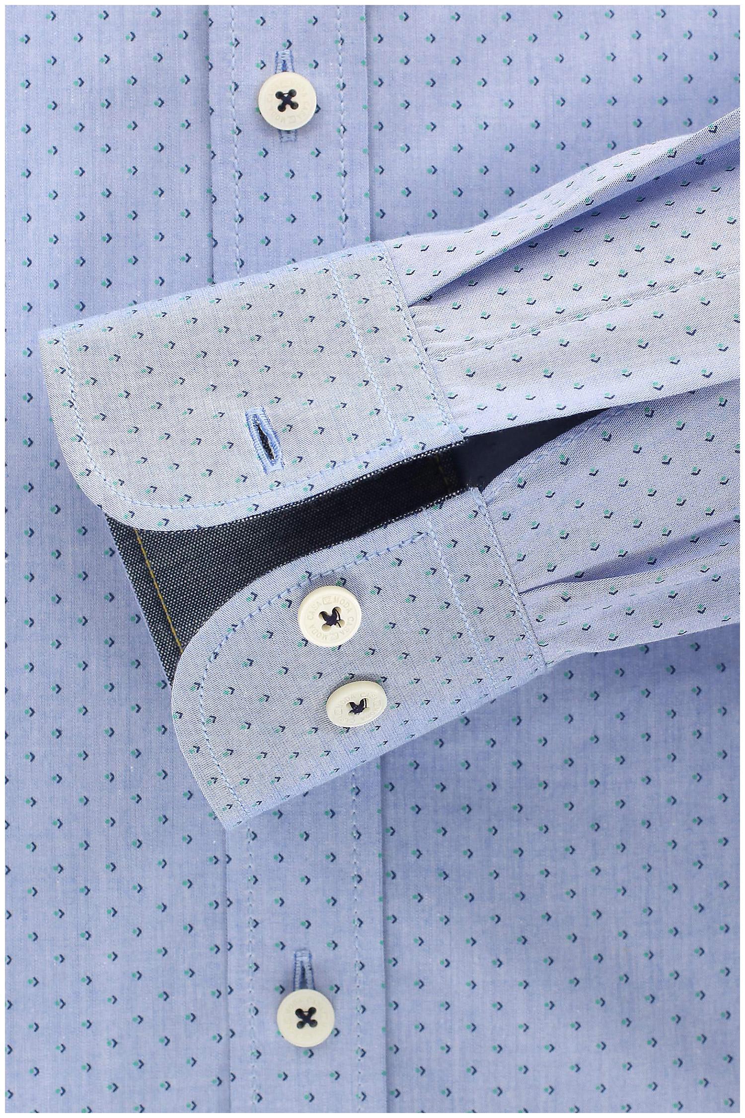 Camisas, Vestir Manga Larga, 109221, CELESTE   Zoom