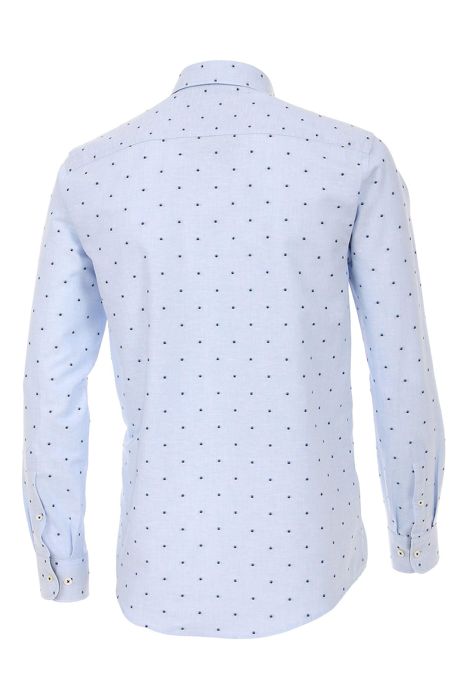 Camisas, Vestir Manga Larga, 109230, CELESTE | Zoom