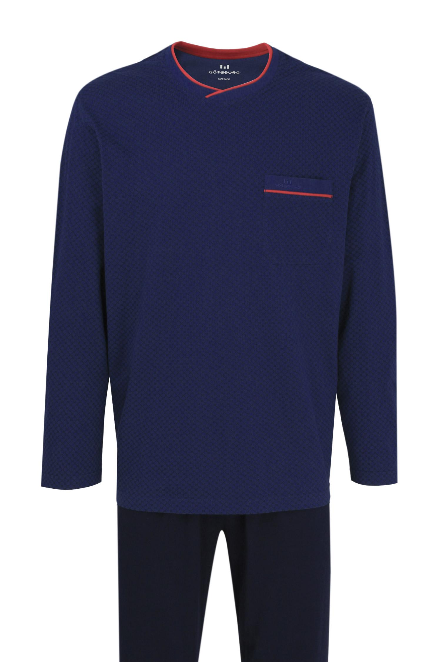 Homewear, Pijama M. Larga, 109345, MARINO | Zoom