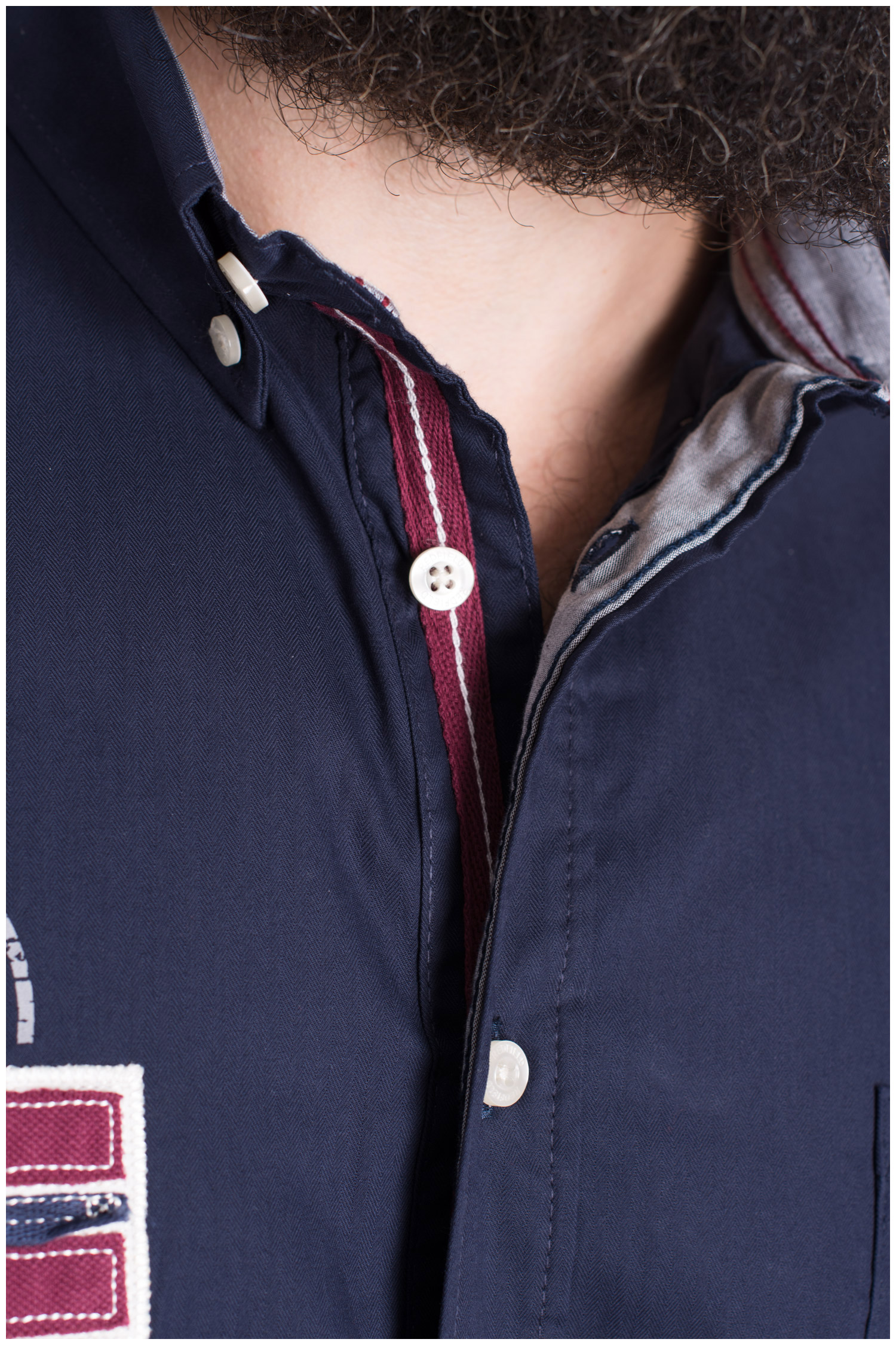 Camisas, Sport Manga Larga, 109385, MARINO | Zoom