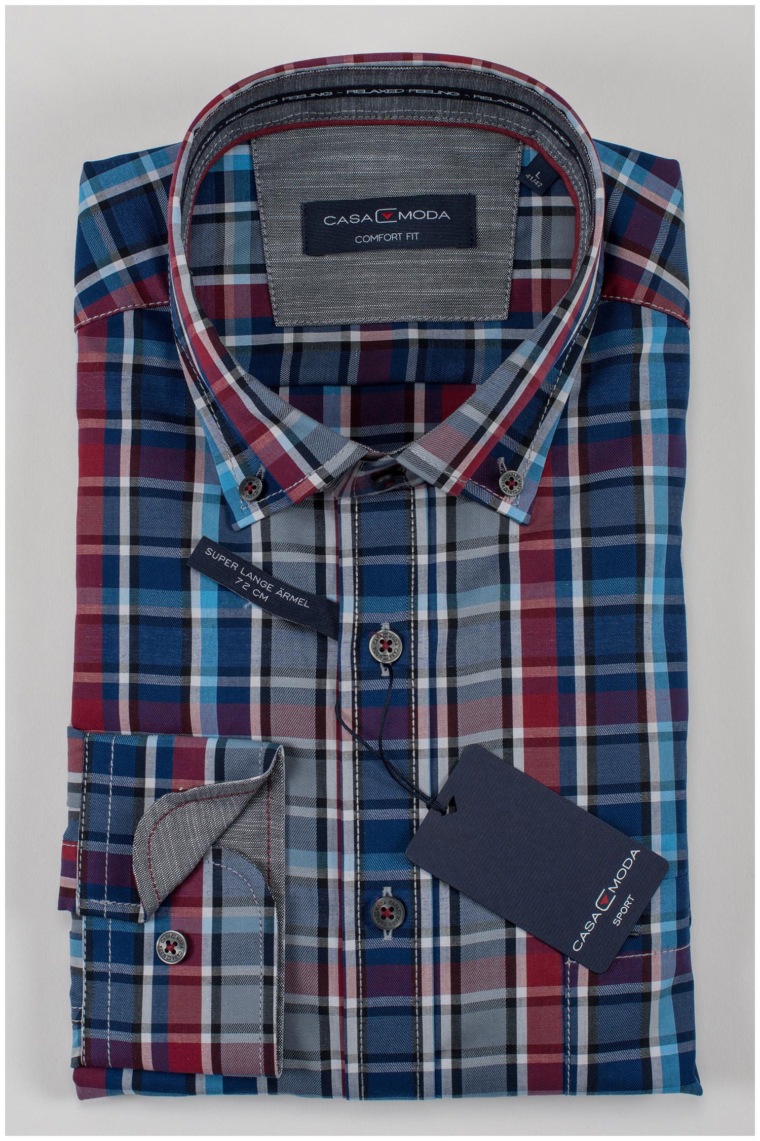 Camisas, Sport Manga Larga, 109394, MARINO | Zoom