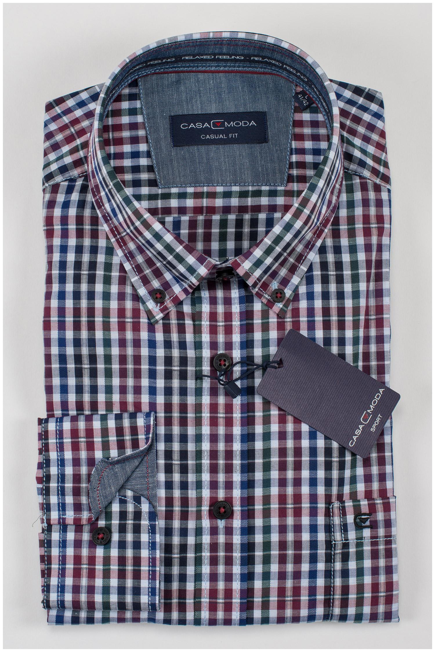 Camisas, Sport Manga Larga, 109396, MARINO | Zoom