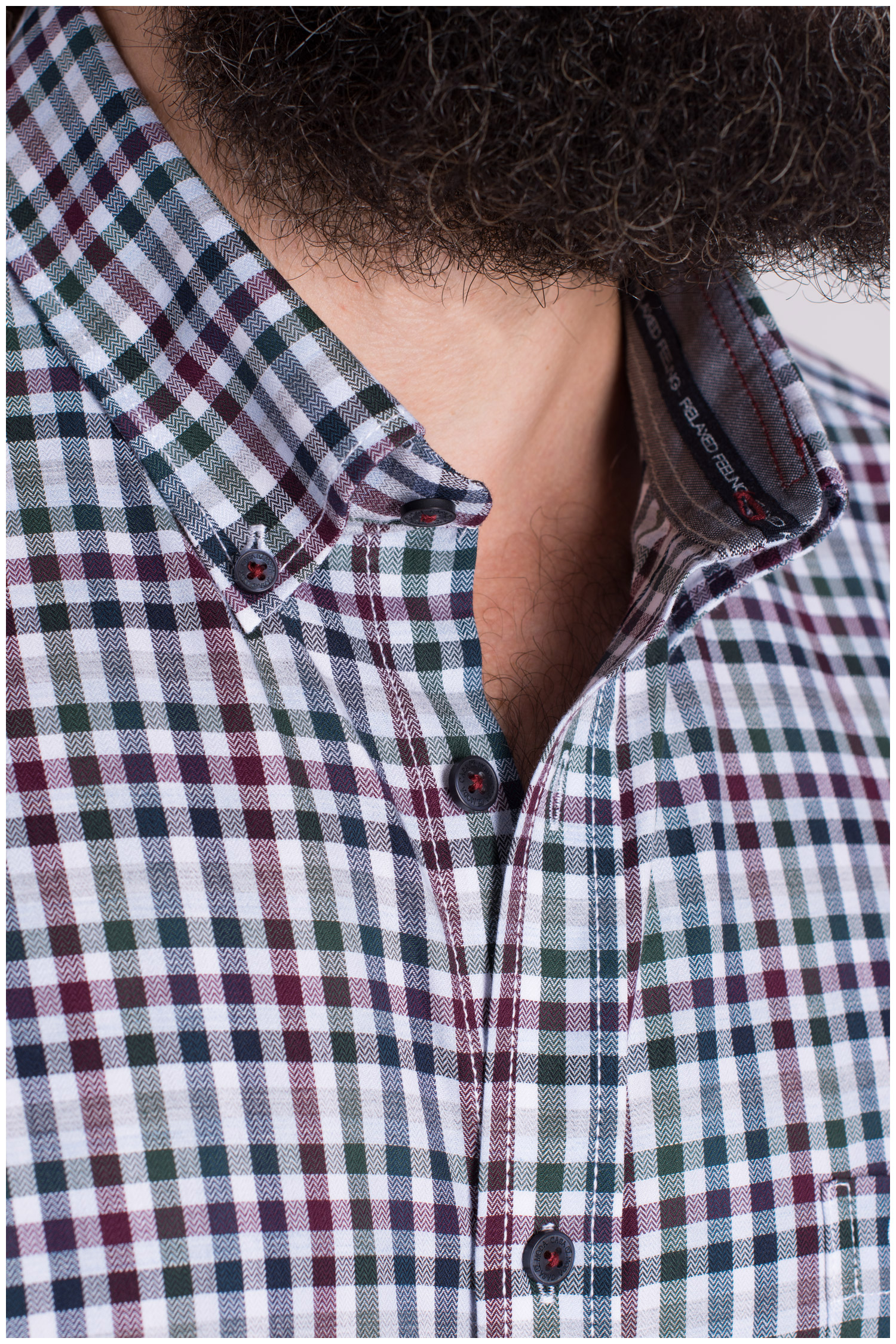 Camisas, Sport Manga Larga, 109397, GRANATE | Zoom