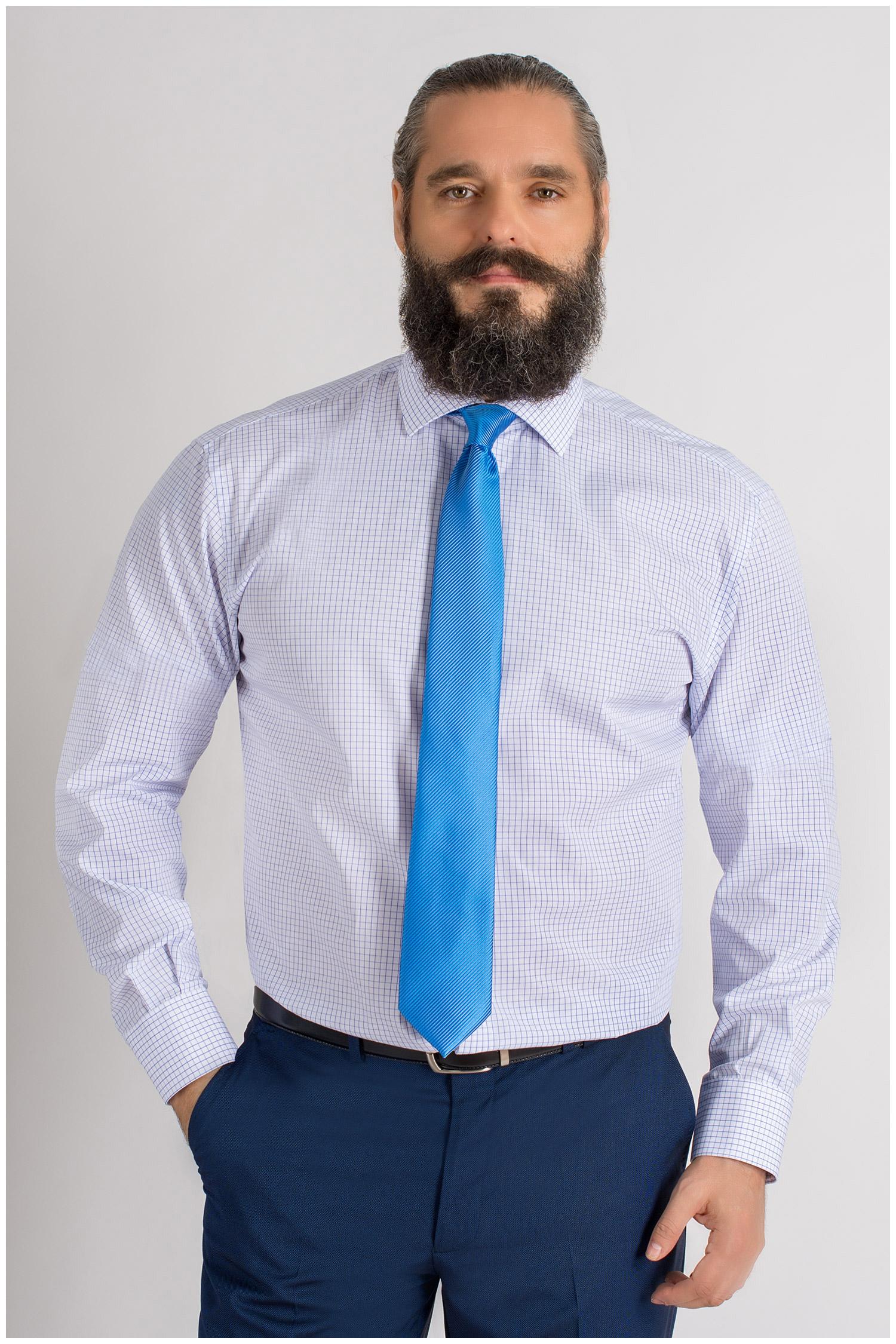 Camisas, Vestir Manga Larga, 109400, CELESTE | Zoom