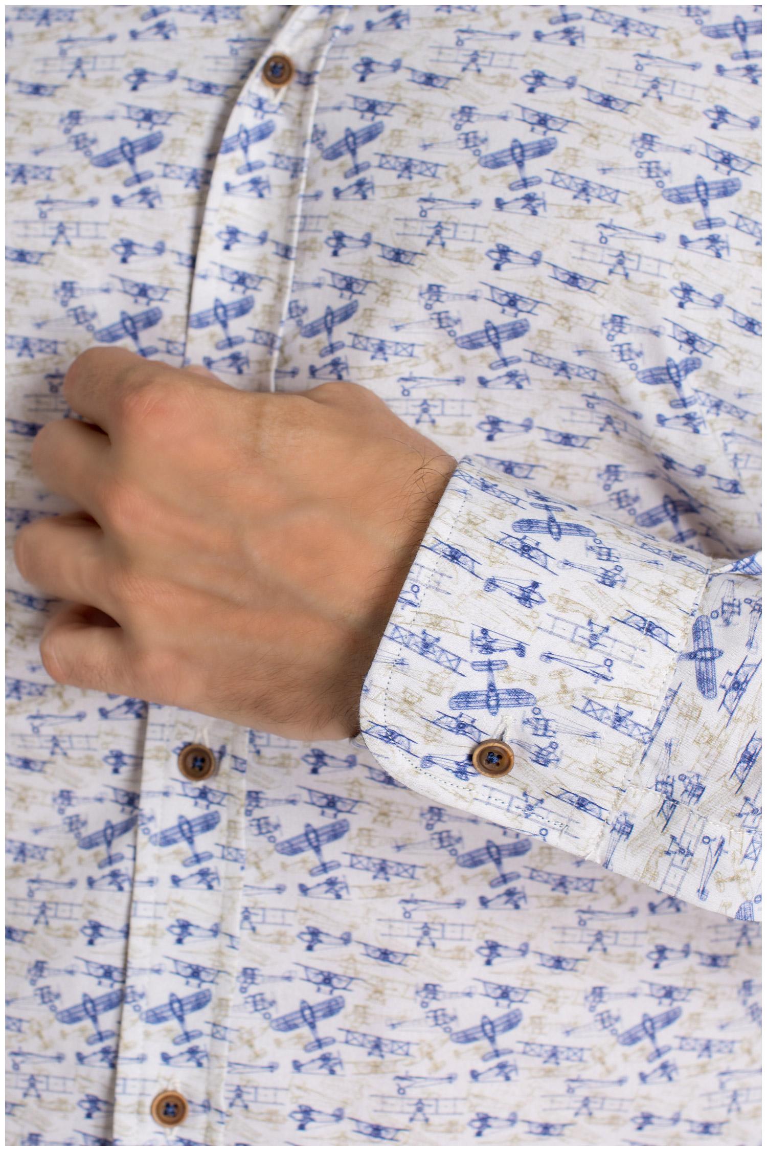 Camisas, Sport Manga Larga, 109402, CELESTE   Zoom