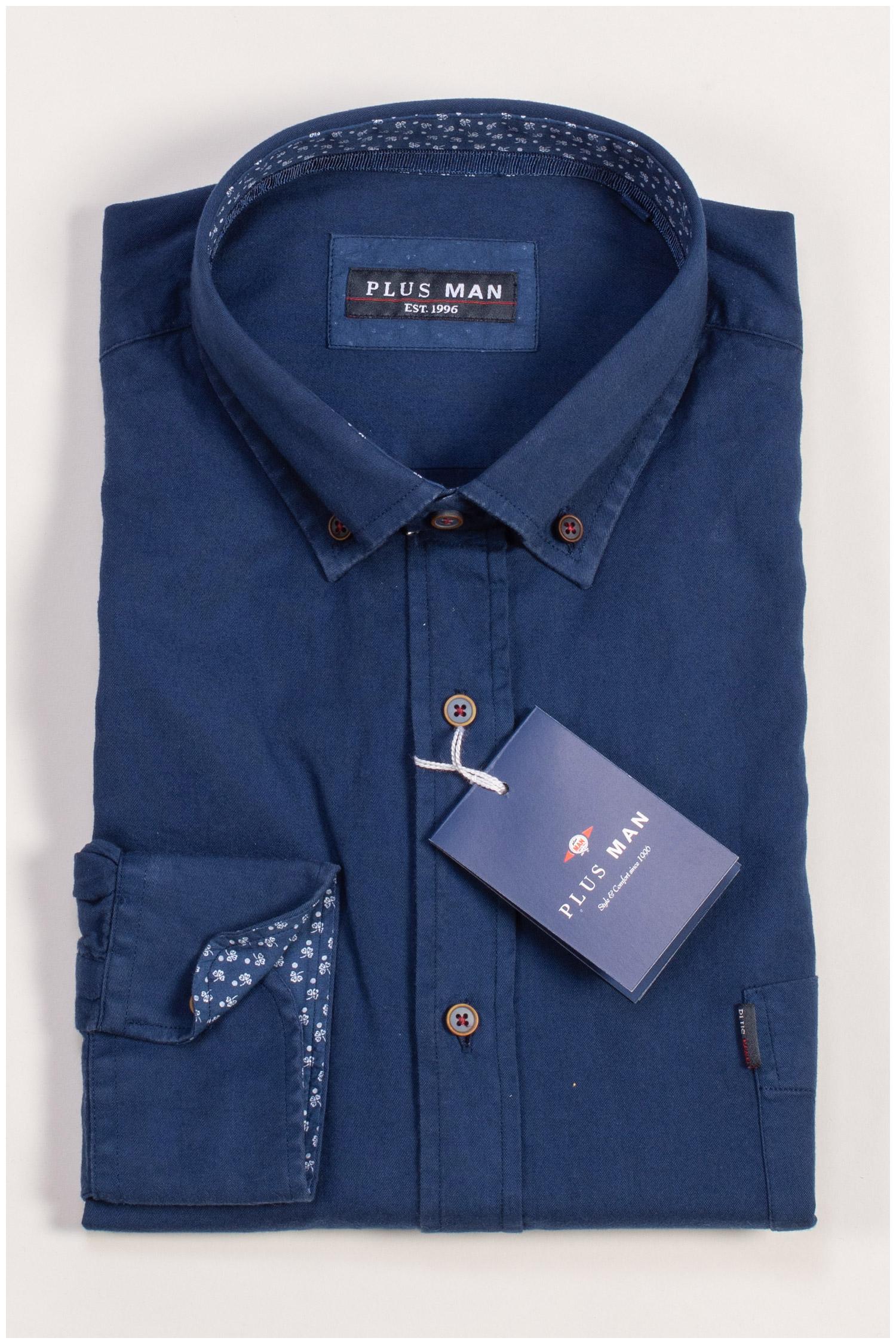 Camisas, Sport Manga Larga, 109406, MARINO | Zoom