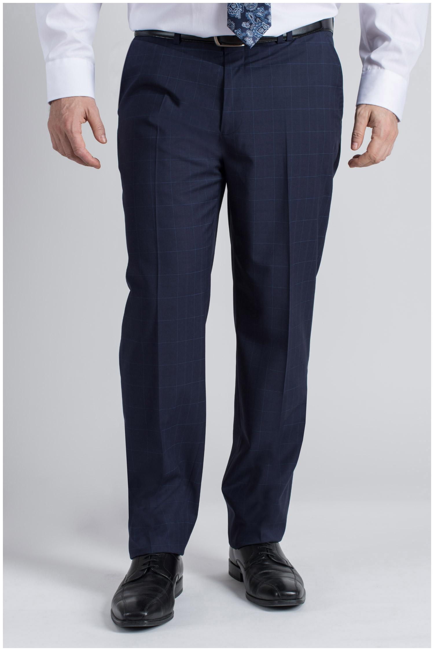 Pantalones, Vestir, 109426, MARINO | Zoom