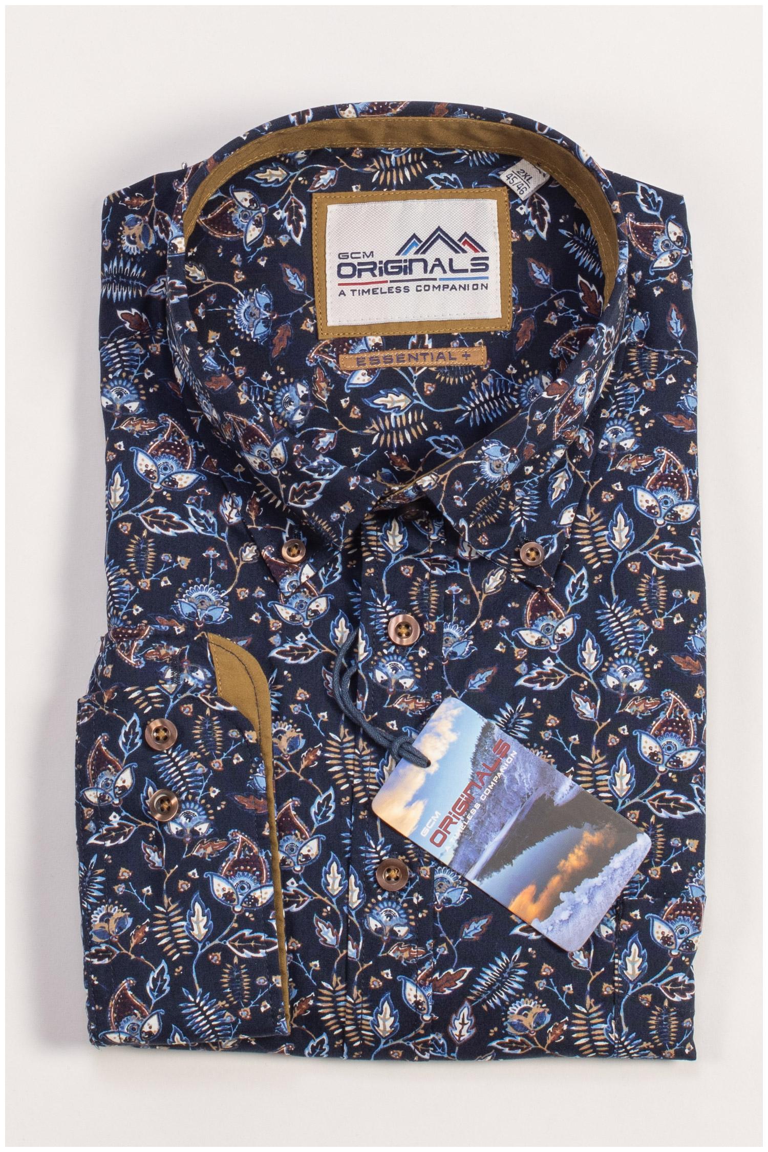 Camisas, Sport Manga Larga, 109434, MARINO | Zoom