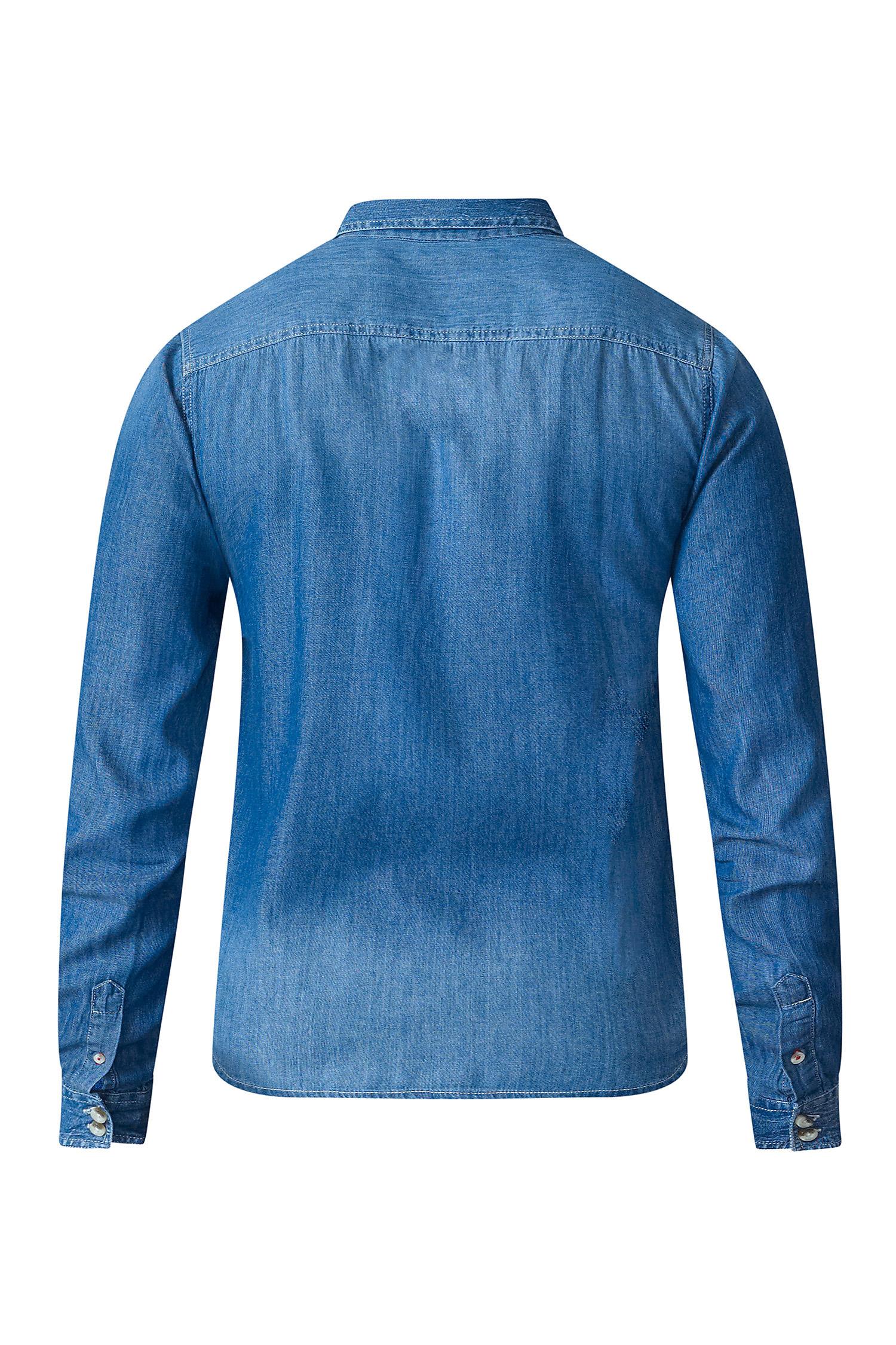 Camisas, Sport Manga Larga, 109487, INDIGO | Zoom