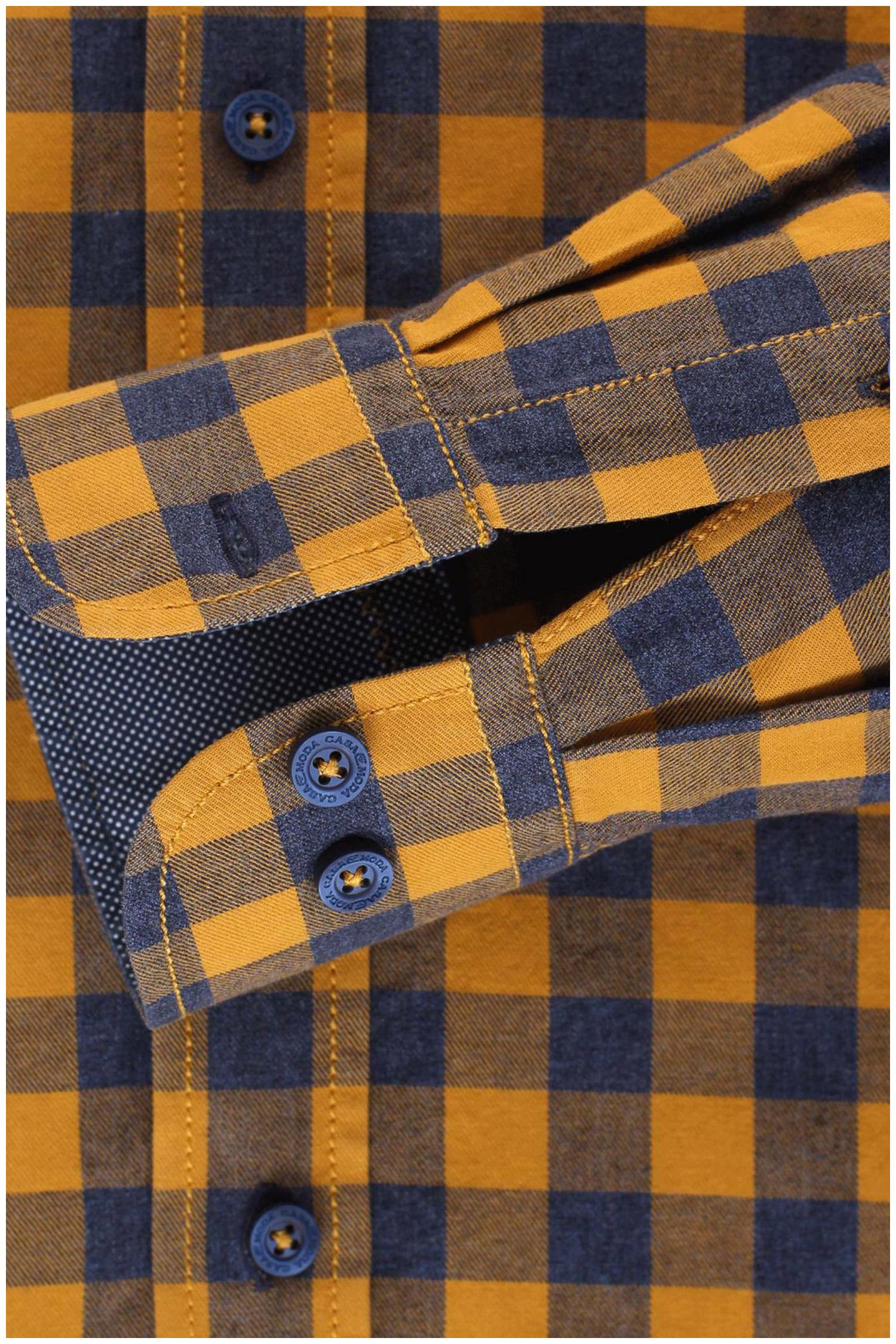 Camisas, Sport Manga Larga, 109508, MOSTAZA | Zoom