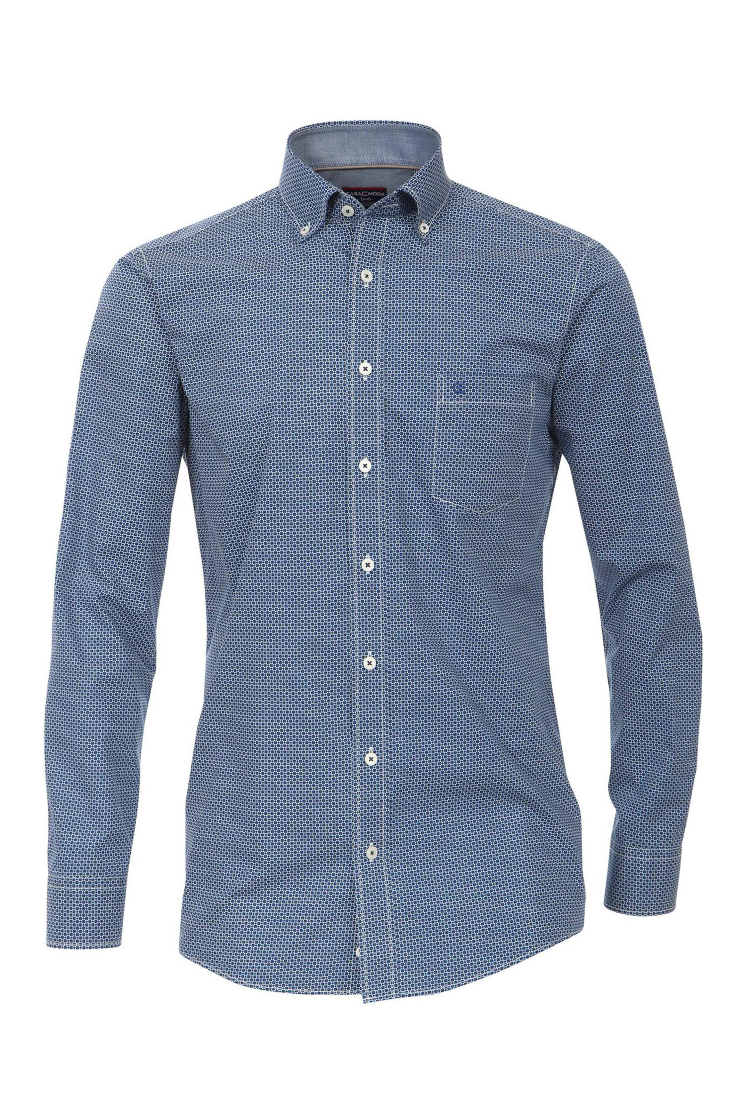 Camisas, Sport Manga Larga, 109516, MARINO | Zoom