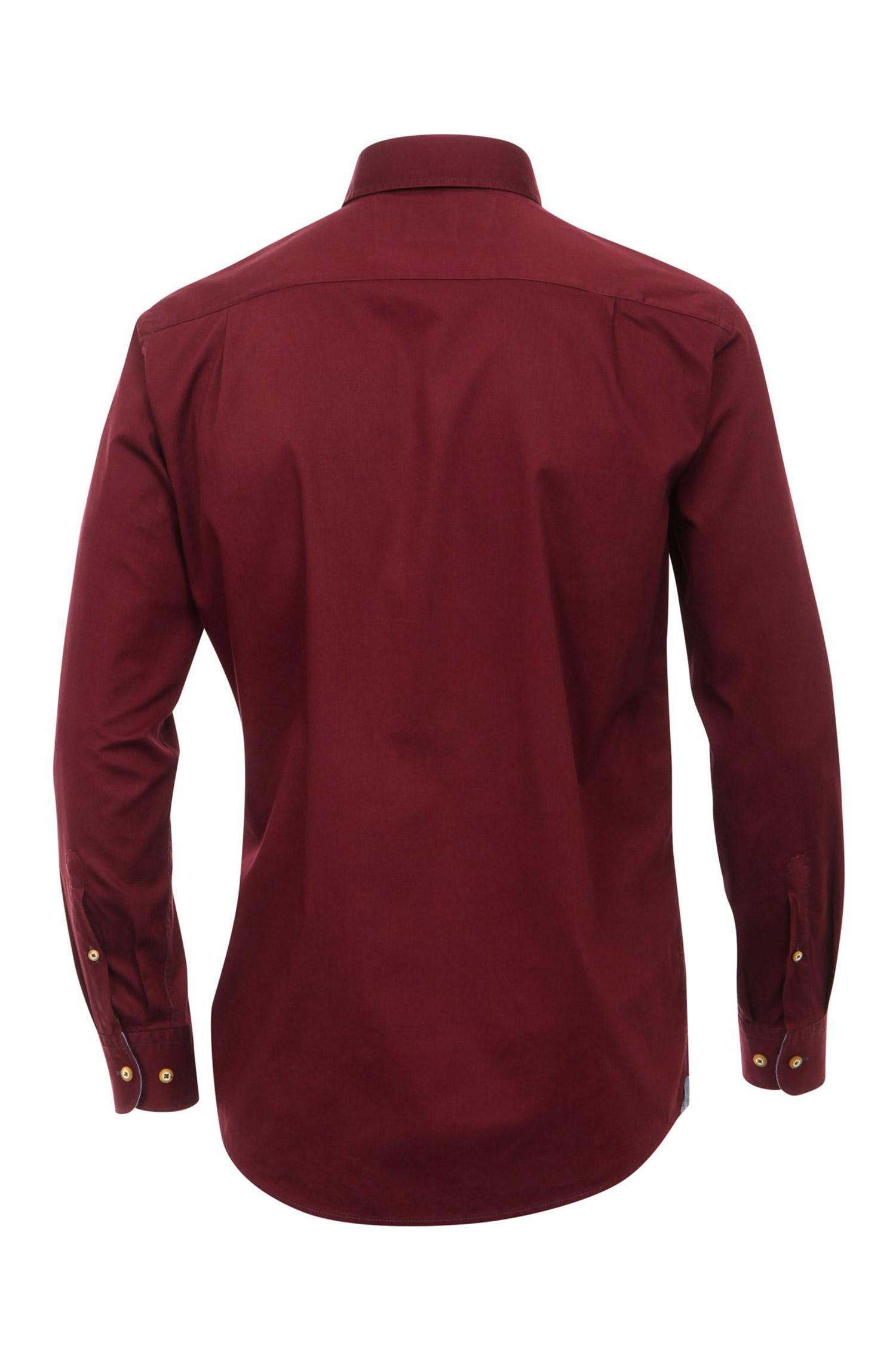 Camisas, Sport Manga Larga, 109520, BURDEOS | Zoom
