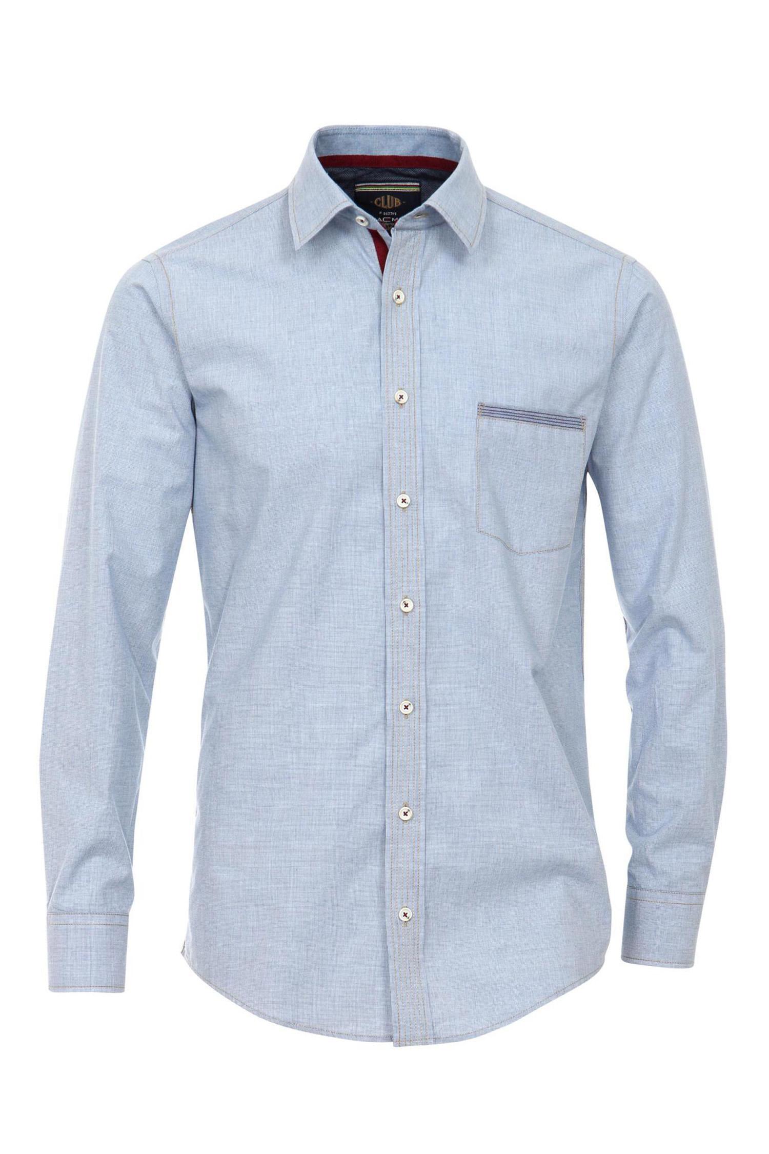 Camisas, Sport Manga Larga, 109522, CELESTE | Zoom