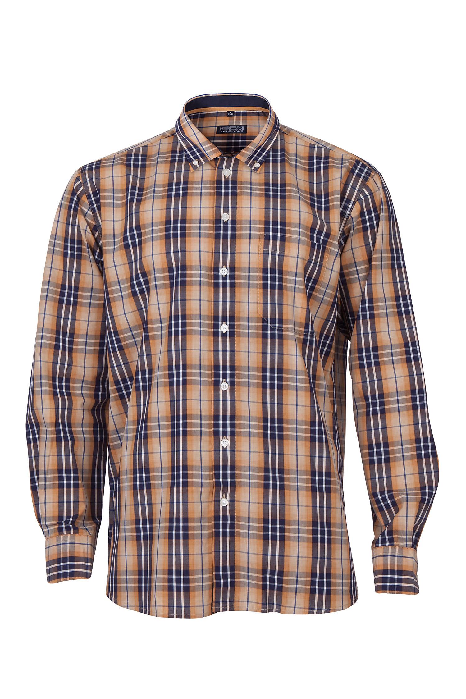 Camisas, Sport Manga Larga, 109566, NARANJA | Zoom