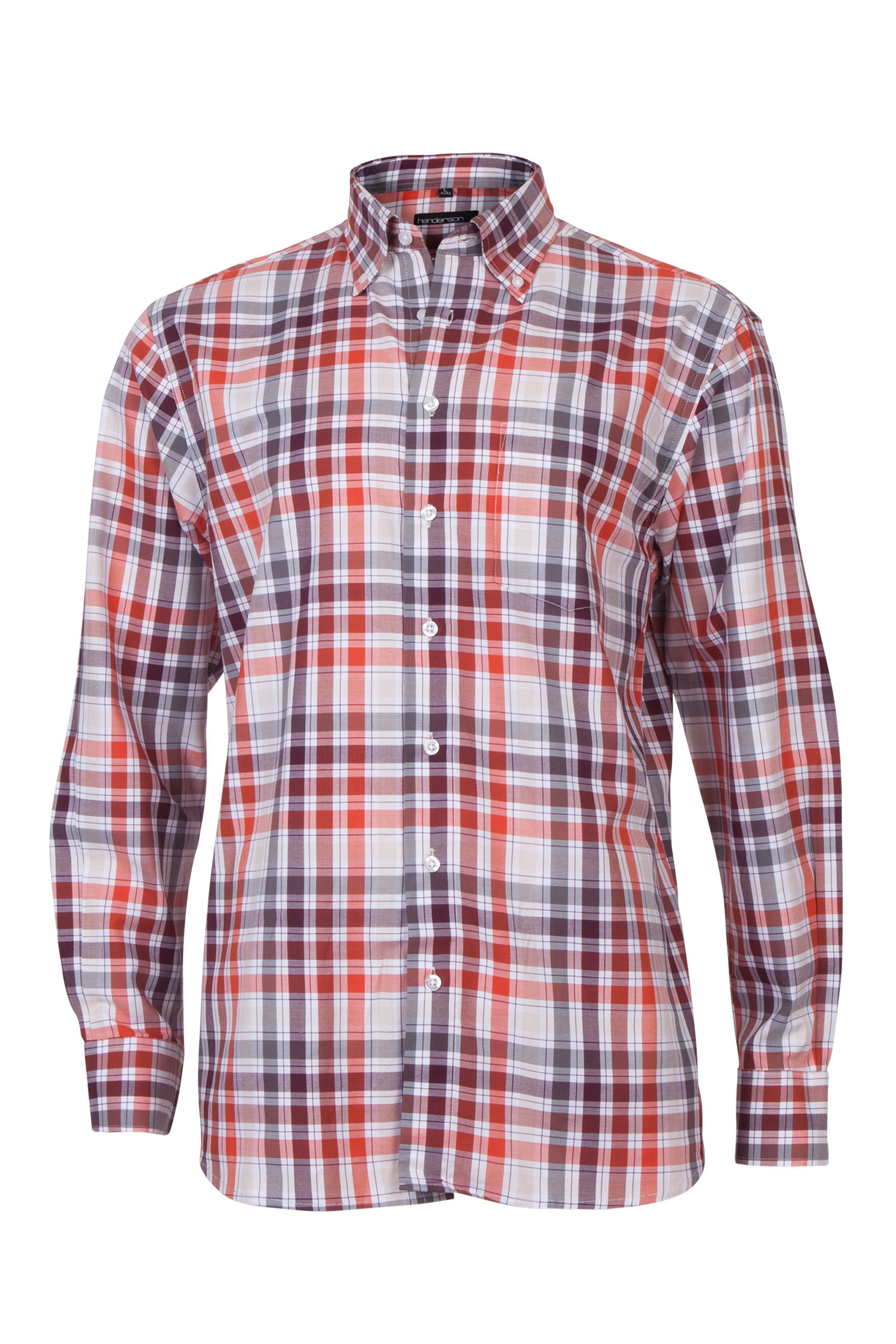 Camisas, Sport Manga Larga, 109568, BURDEOS | Zoom