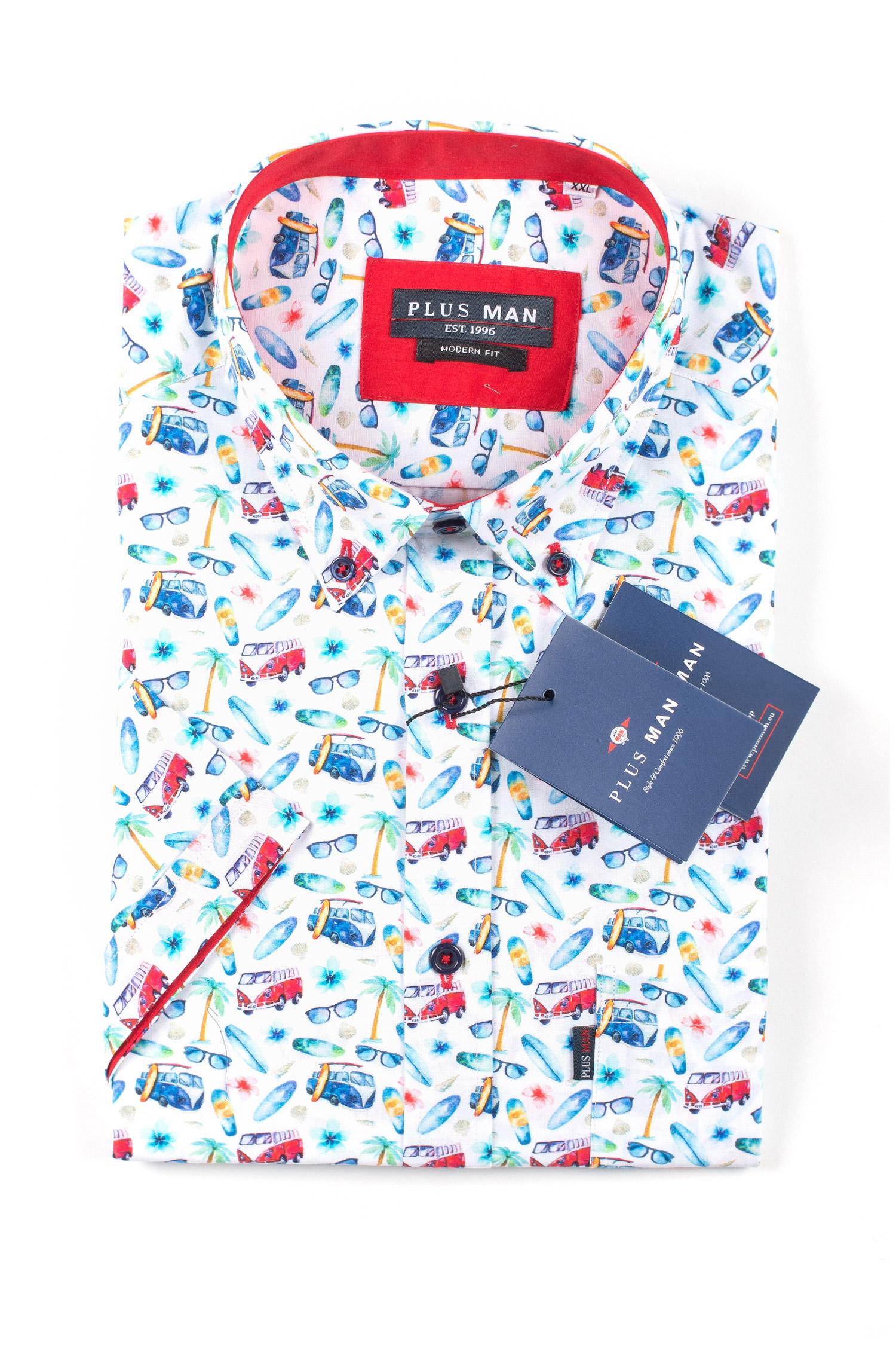 Camisas, Sport Manga Corta, 109588, BLANCO   Zoom