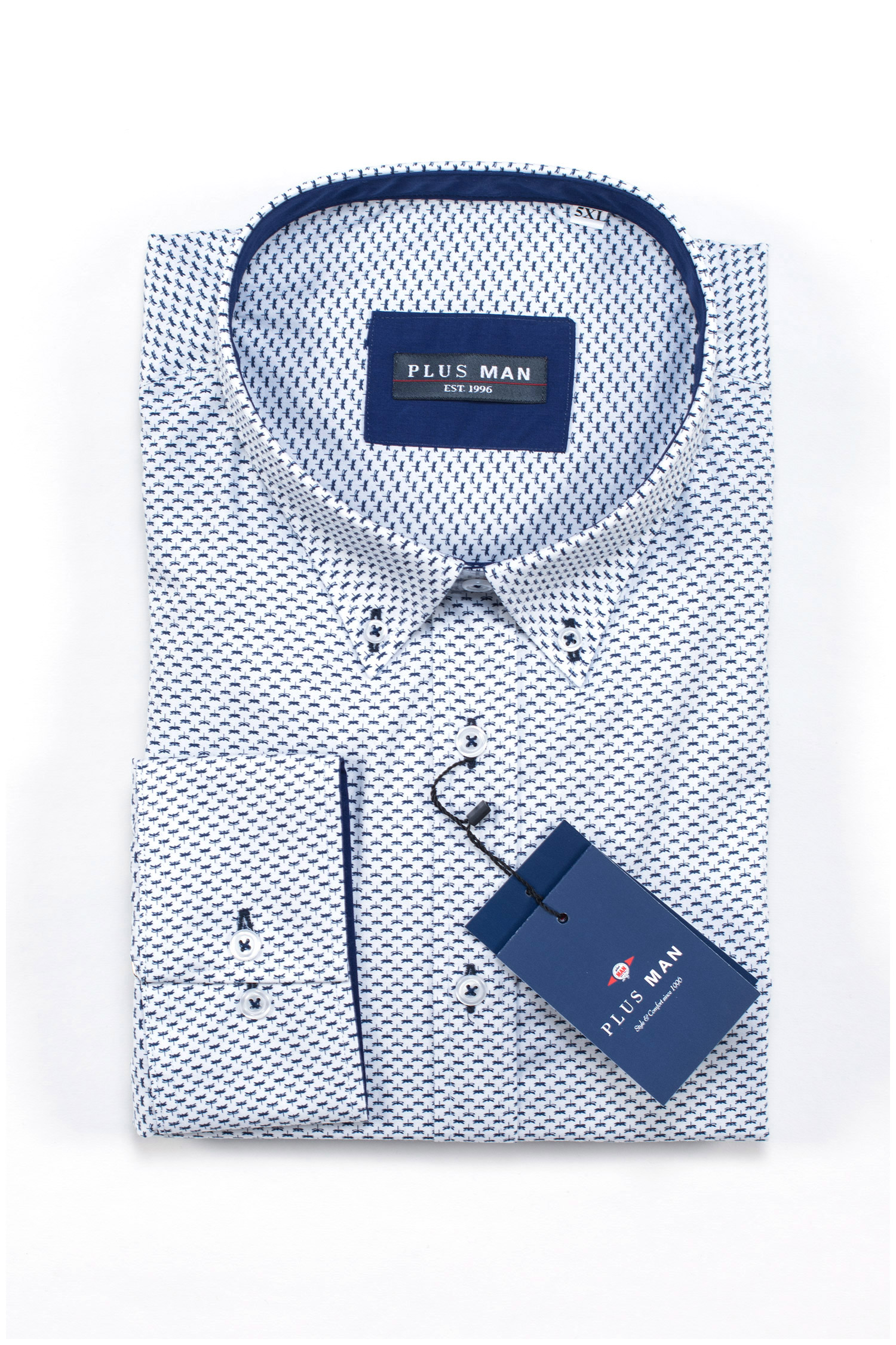 Camisas, Sport Manga Larga, 109589, MARINO | Zoom