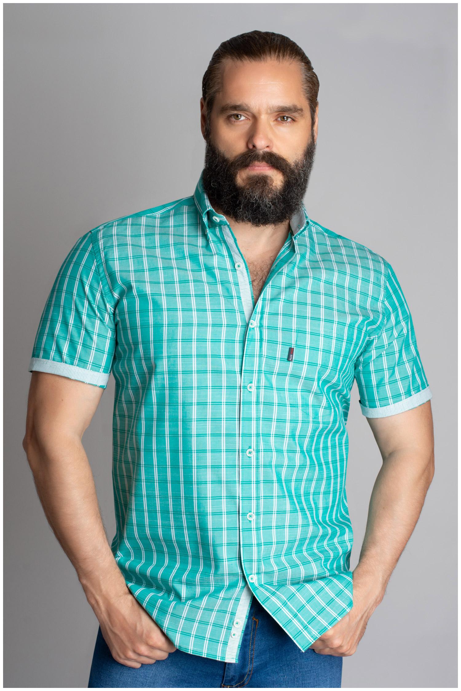 Camisas, Sport Manga Corta, 109618, VERDE | Zoom