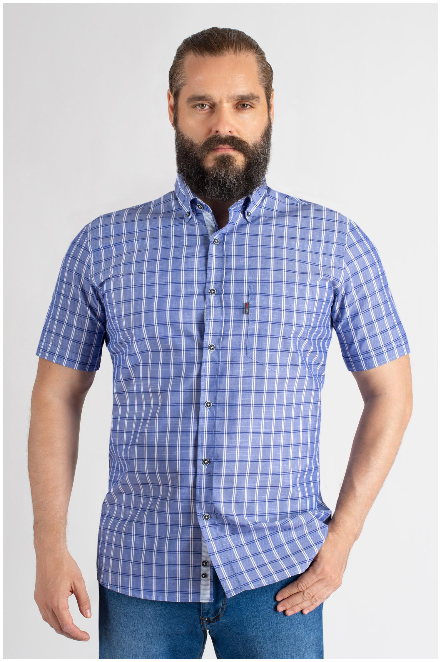 Camisas, Sport Manga Corta, 109618, MARINO | Zoom