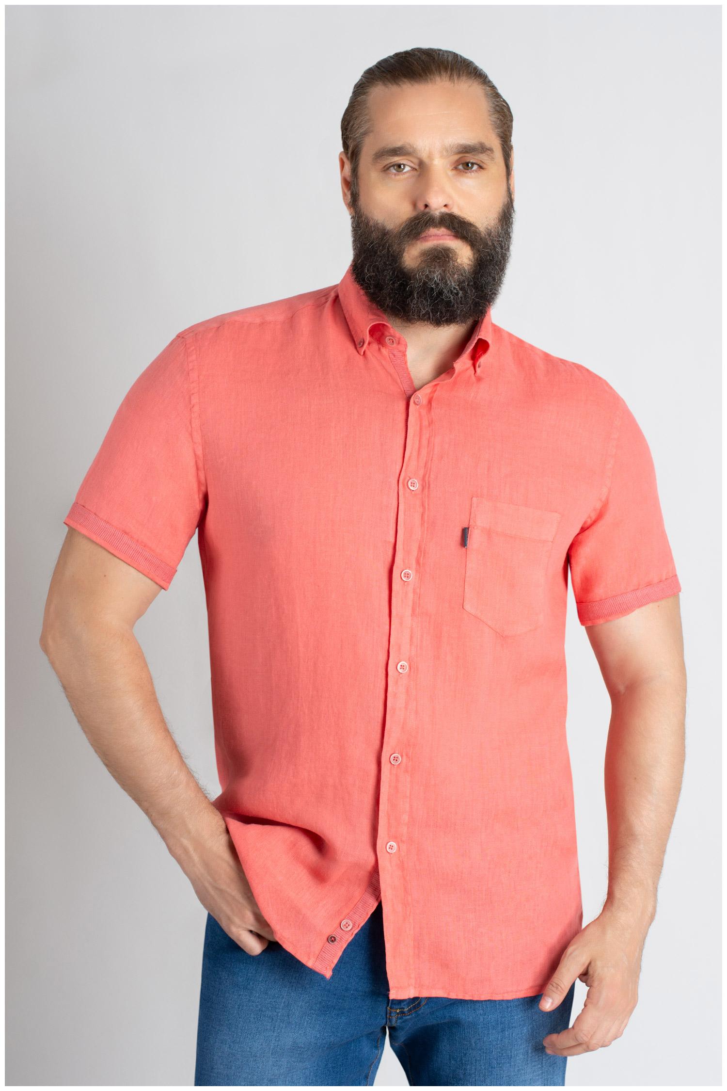 Camisas, Sport Manga Corta, 109619, CORAL | Zoom