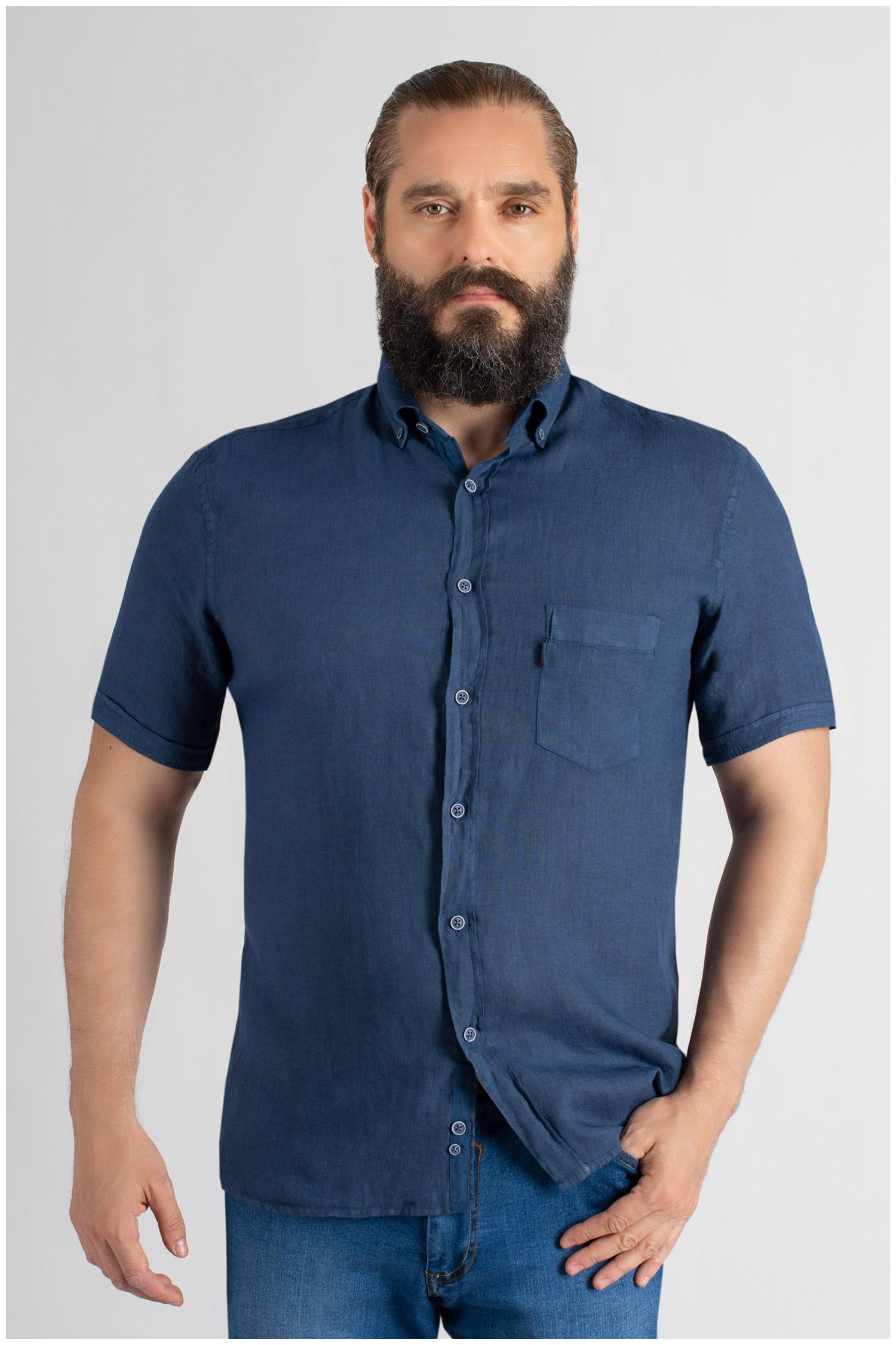 Camisas, Sport Manga Corta, 109619, MARINO | Zoom