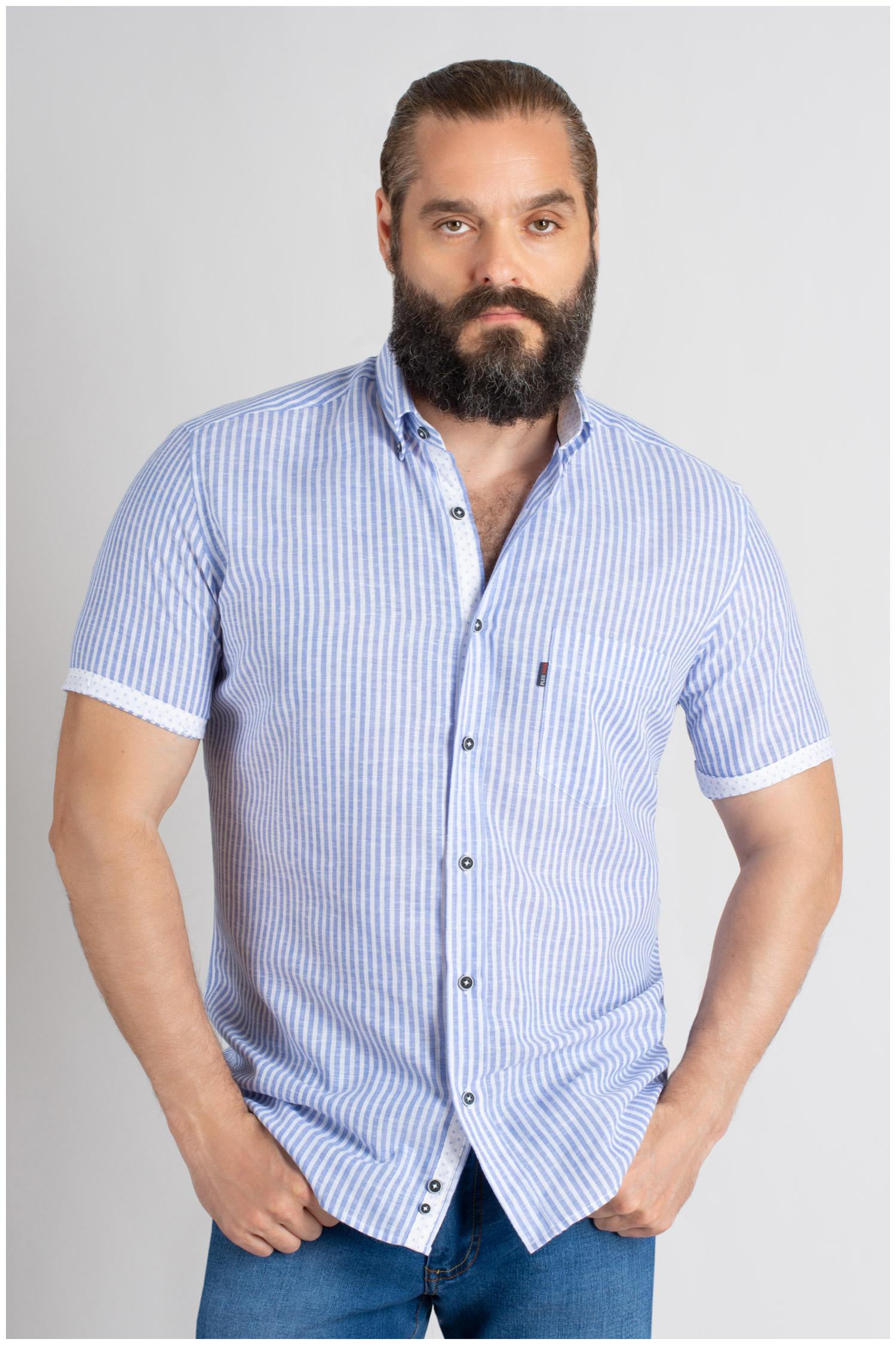 Camisas, Sport Manga Corta, 109620, MARINO | Zoom