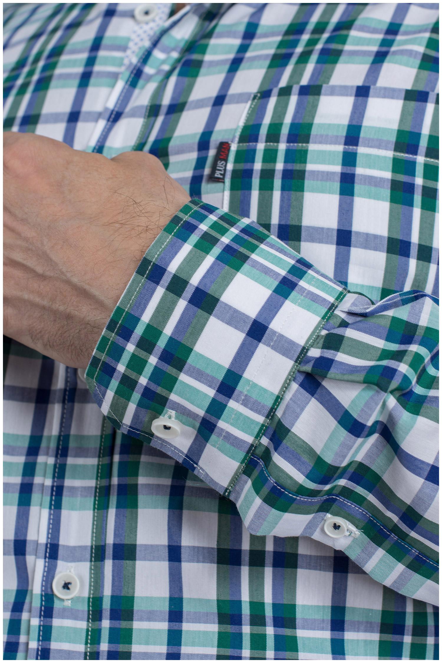 Camisas, Sport Manga Larga, 109621, VERDE | Zoom