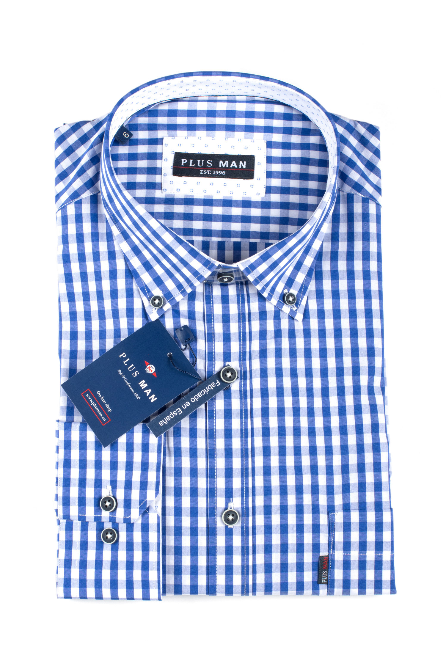 Camisas, Sport Manga Larga, 109622, ROYAL   Zoom