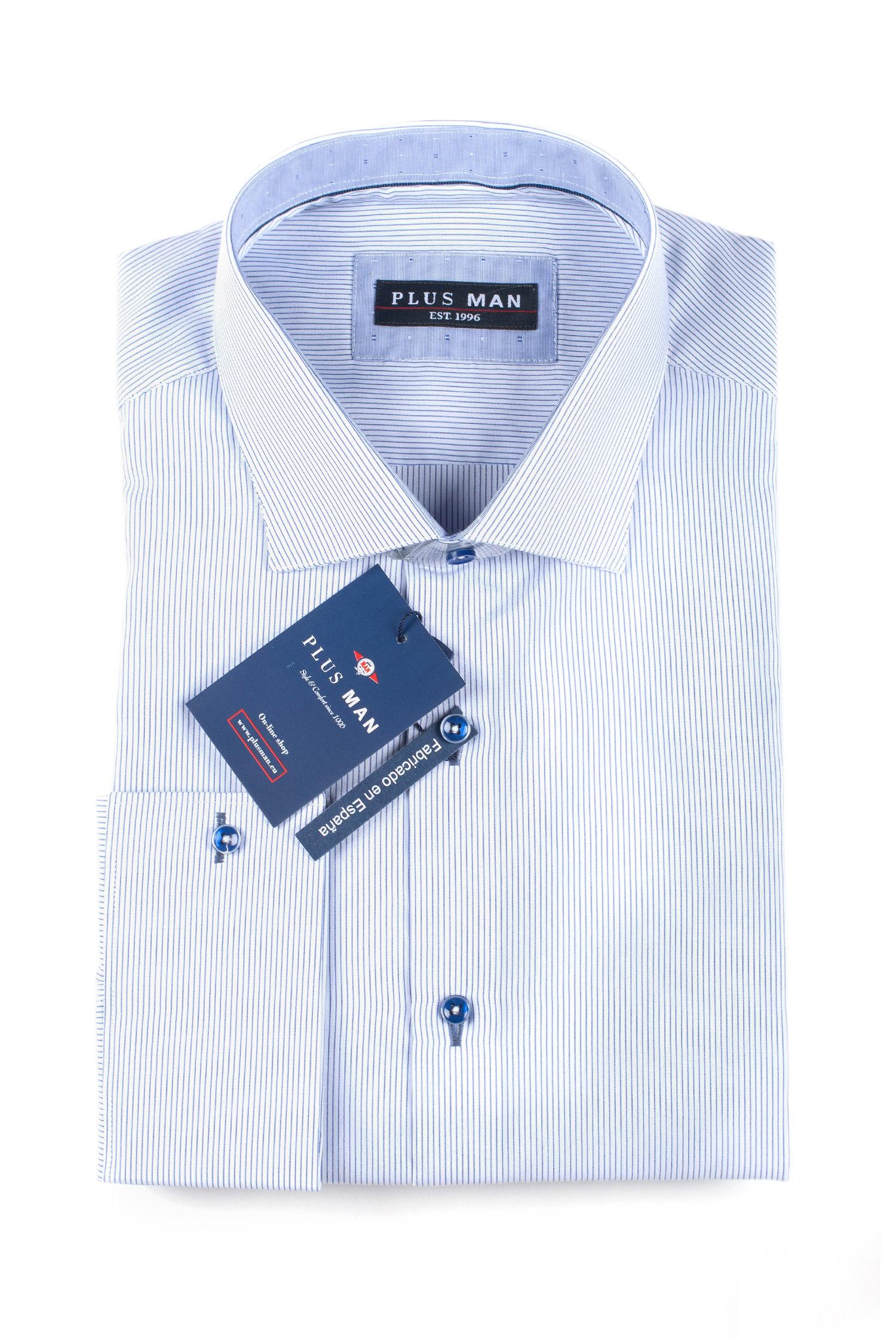 Camisas, Vestir Manga Larga, 109627, CELESTE | Zoom