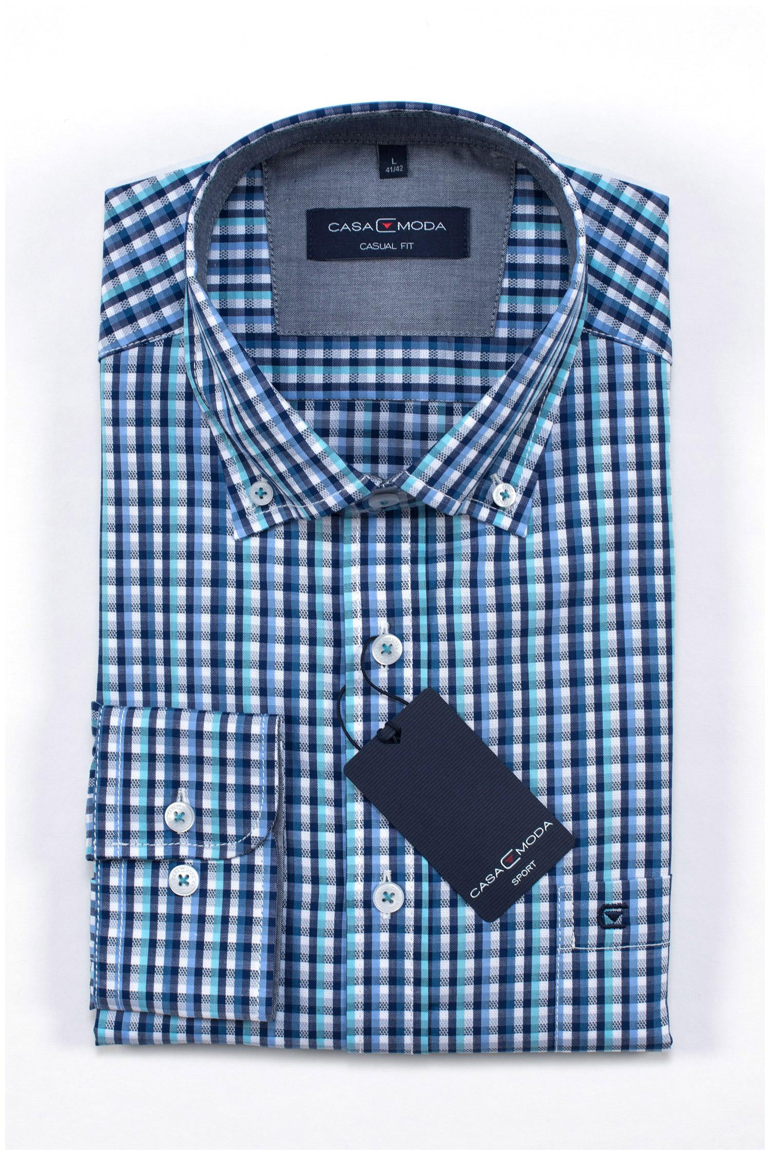 Camisas, Sport Manga Larga, 109633, MARINO | Zoom