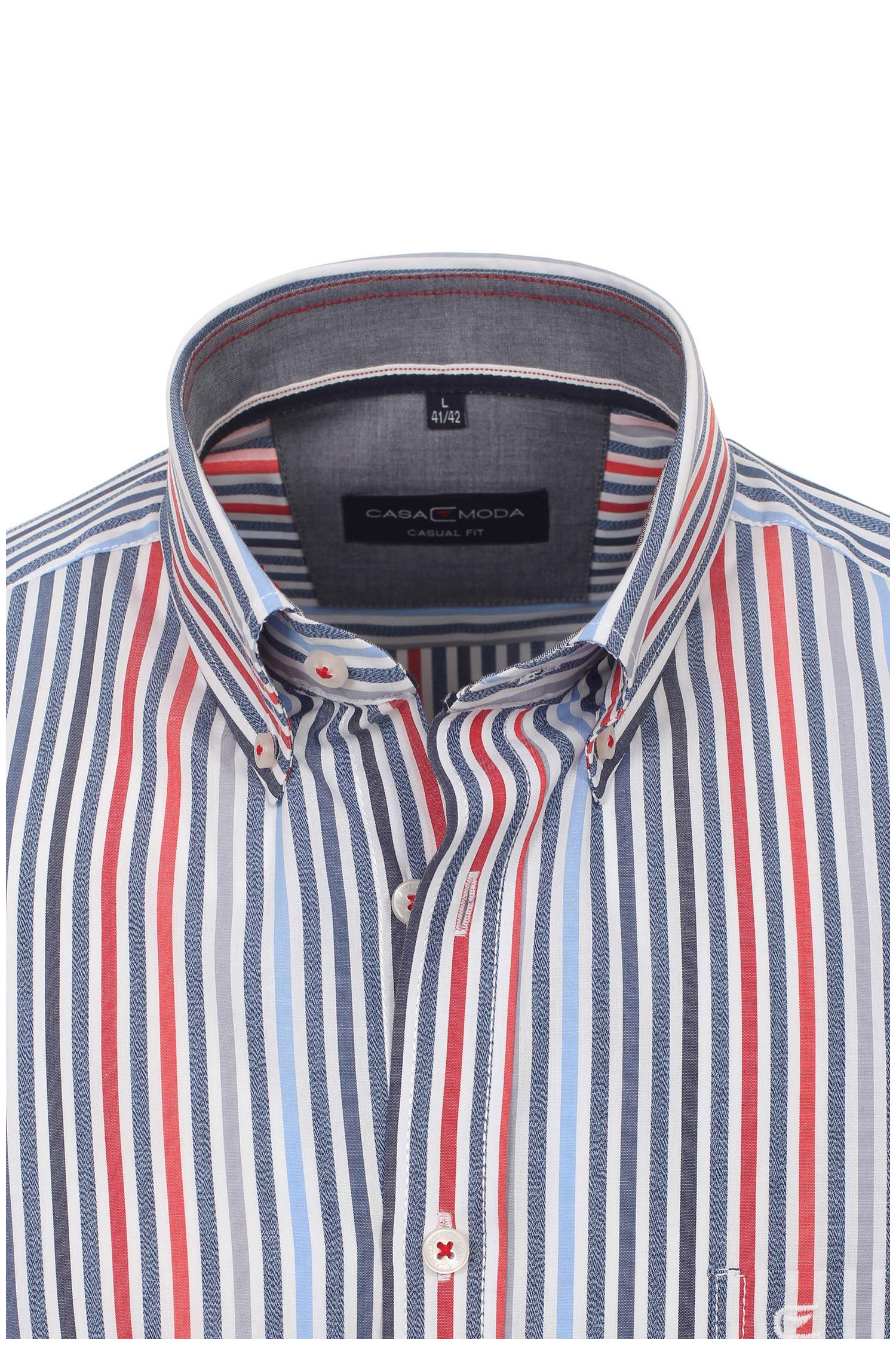 Camisas, Sport Manga Larga, 109637, MARINO | Zoom