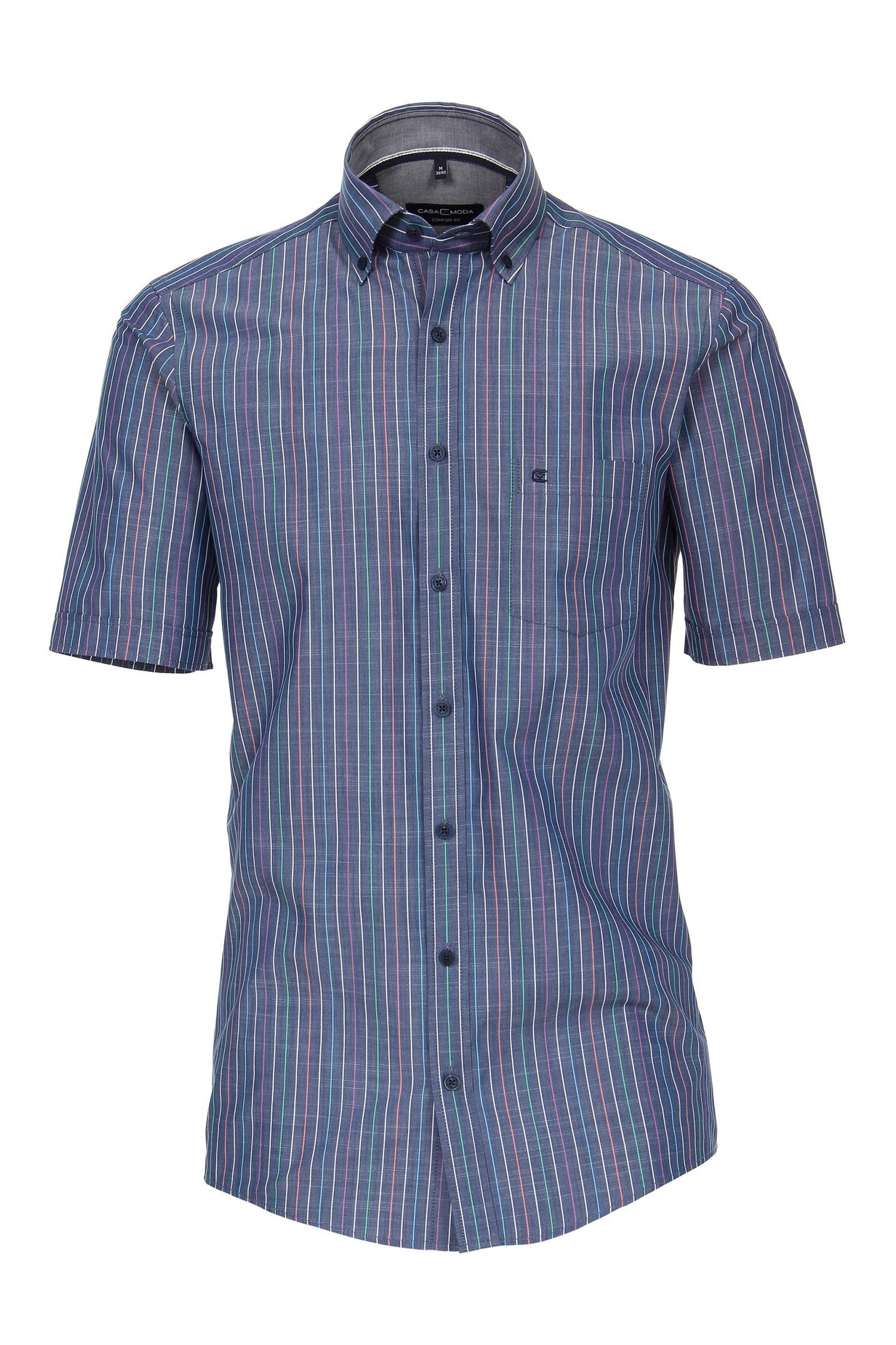 Camisas, Sport Manga Corta, 109640, MARINO | Zoom