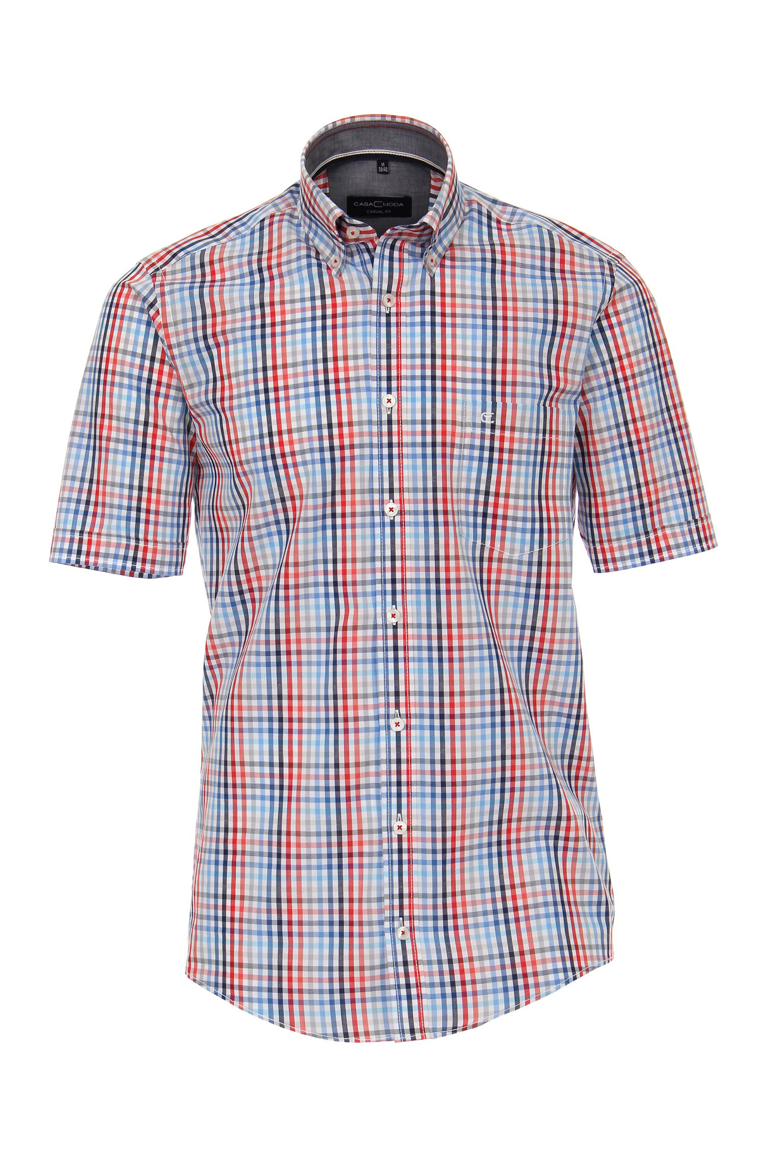 Camisas, Sport Manga Corta, 109642, MARINO | Zoom