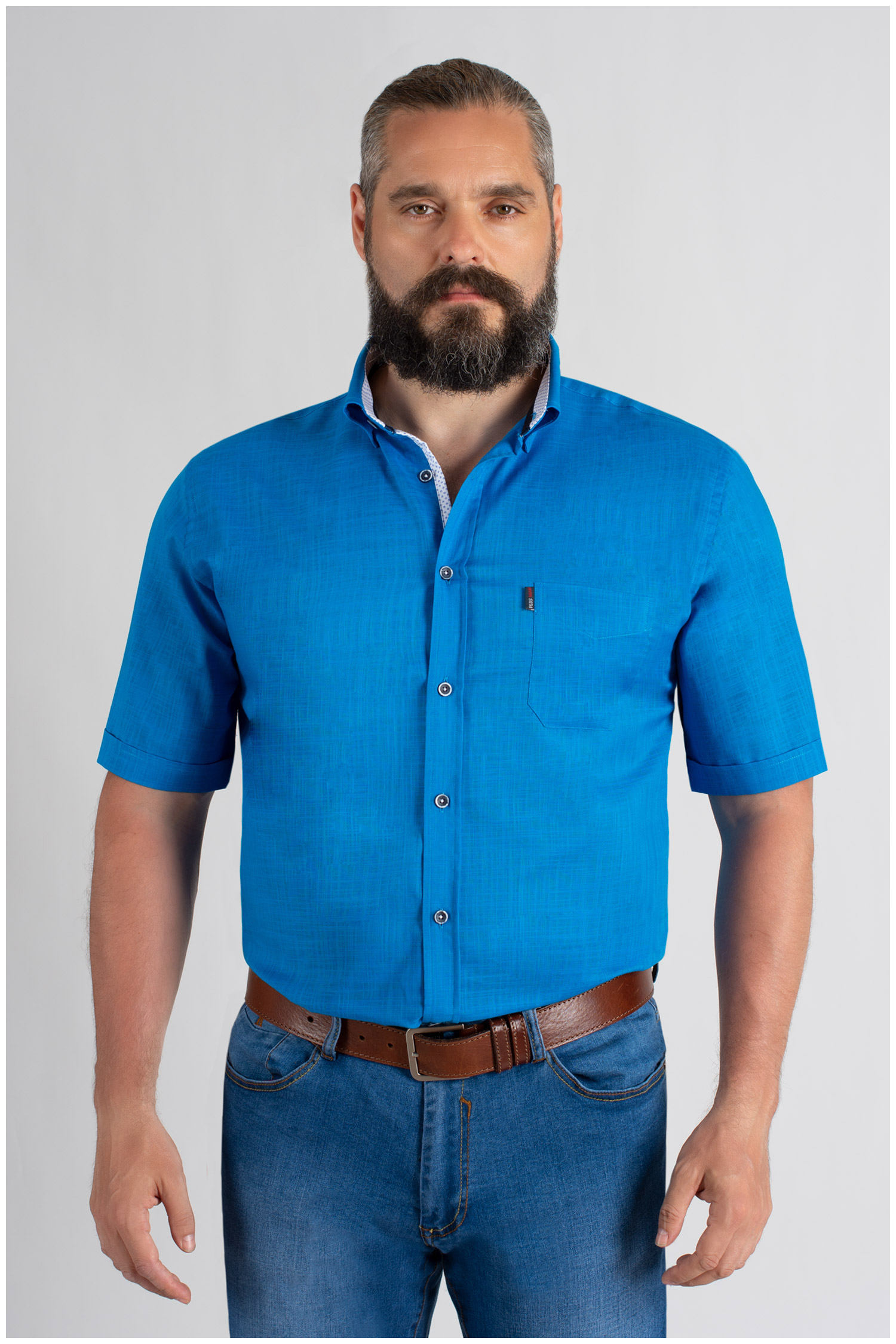 Camisas, Sport Manga Corta, 109653, ROYAL | Zoom
