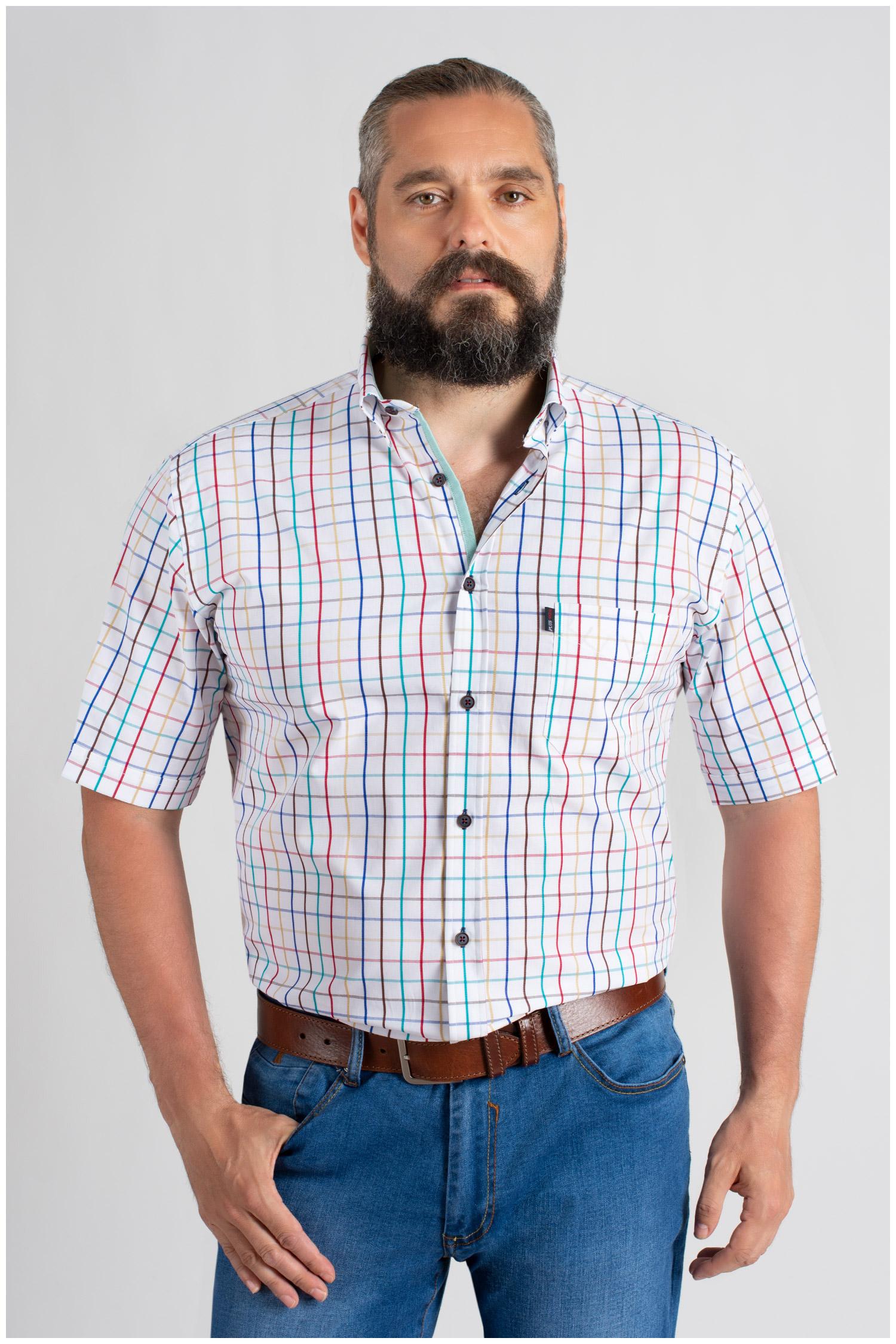 Camisas, Sport Manga Corta, 109655, BLANCO   Zoom