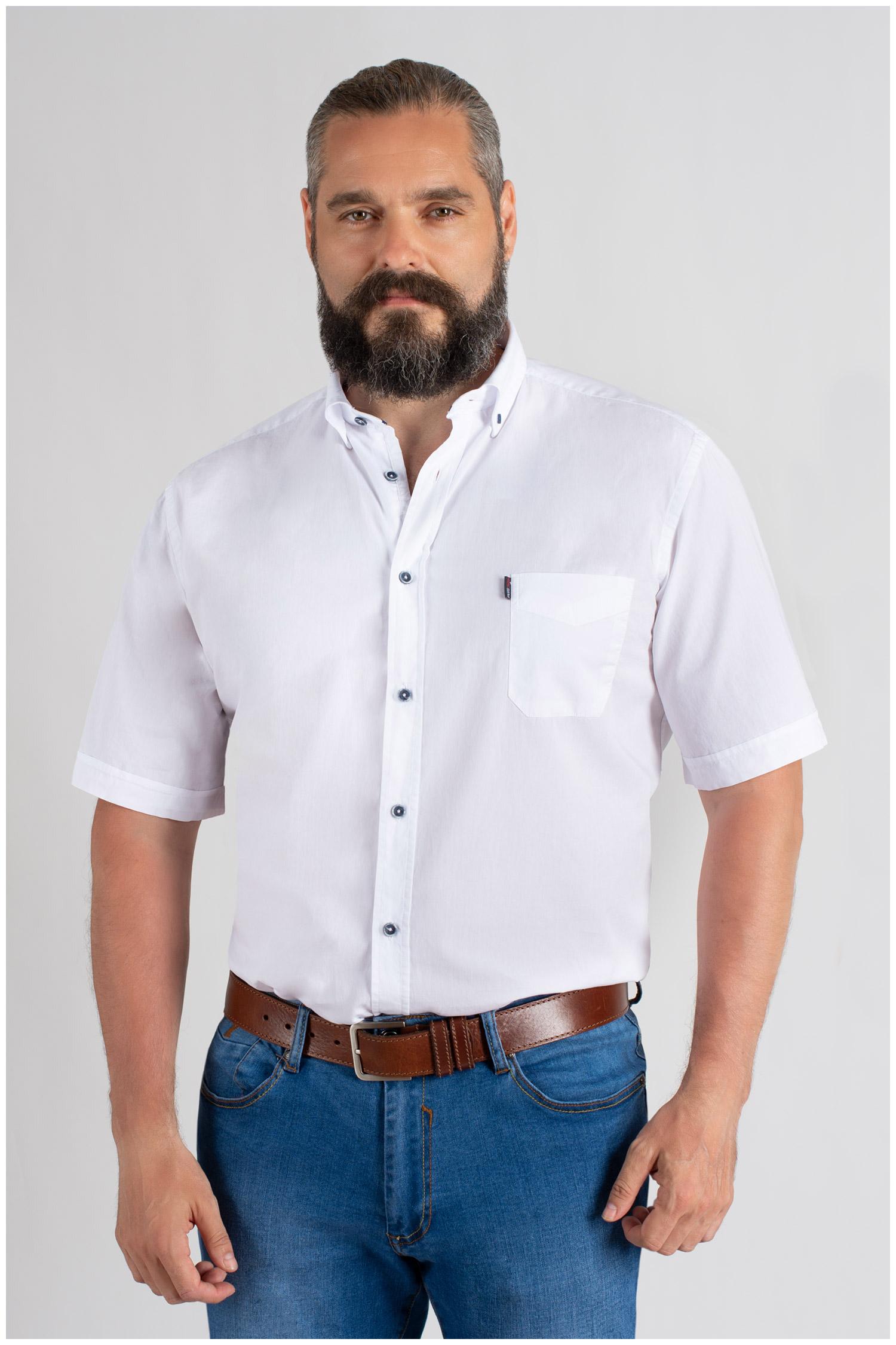 Camisas, Sport Manga Corta, 109656, BLANCO   Zoom