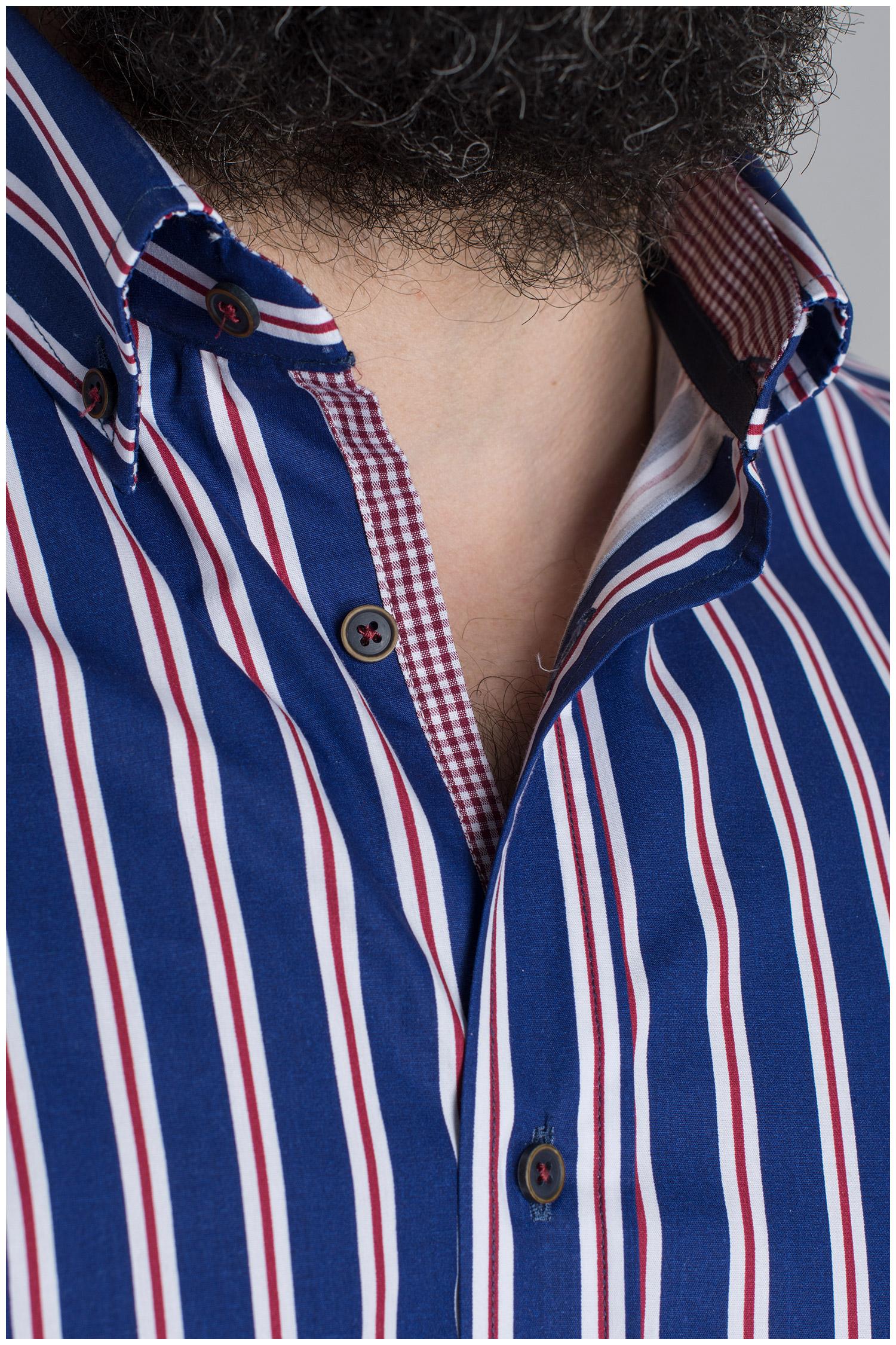 Camisas, Sport Manga Larga, 109659, MARINO | Zoom