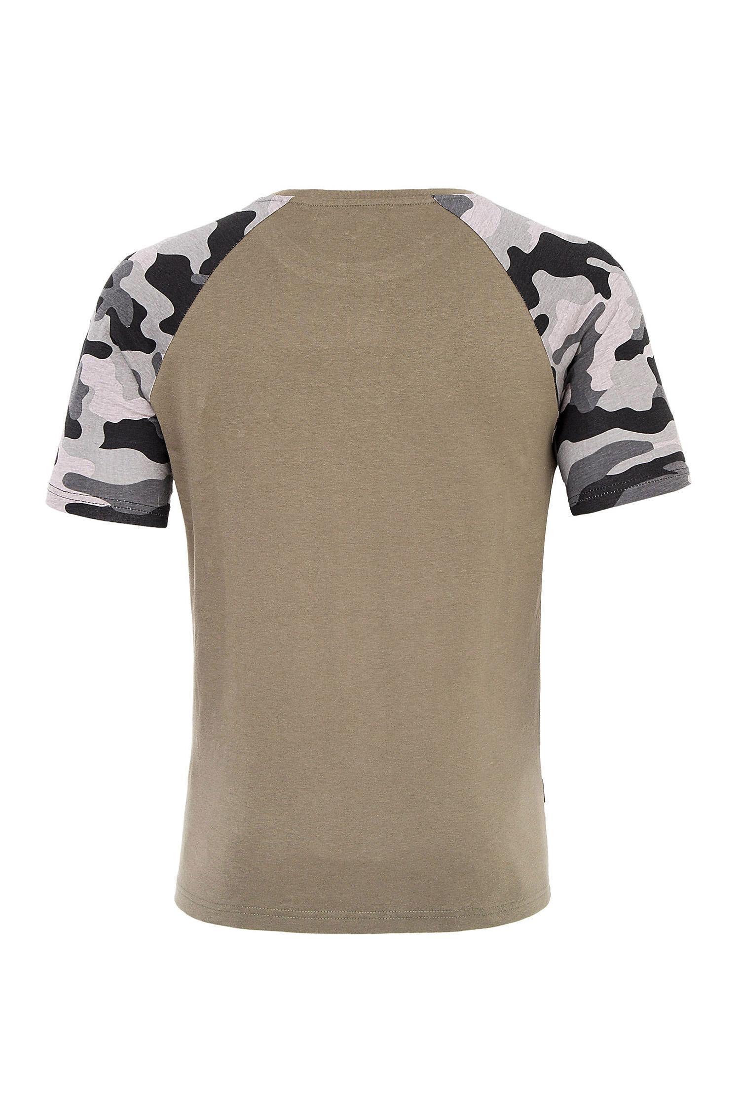 Sport, Camisetas M. Corta, 109719, KAKI | Zoom