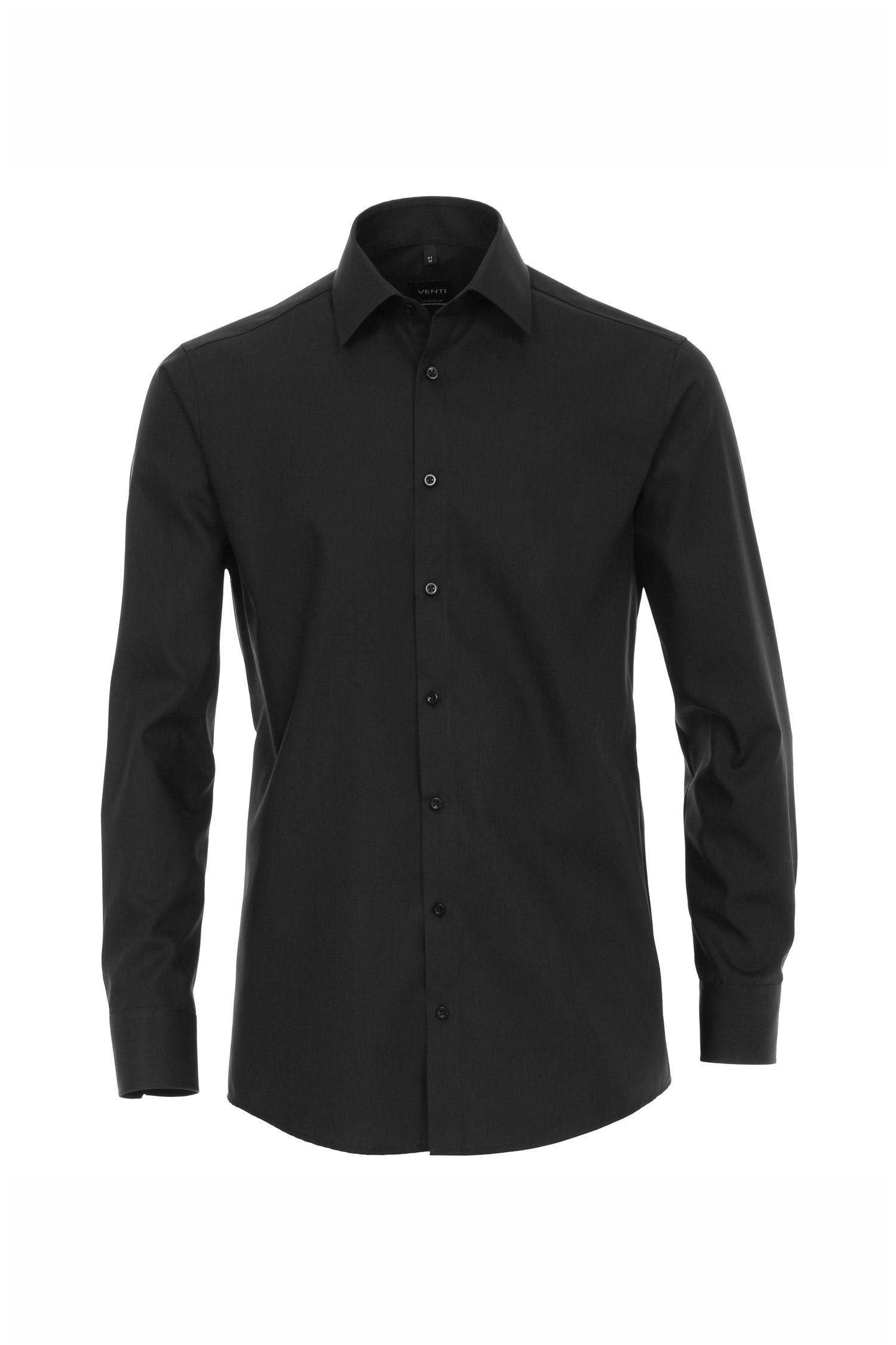 Camisas, Vestir Manga Larga, 109771, NEGRO | Zoom