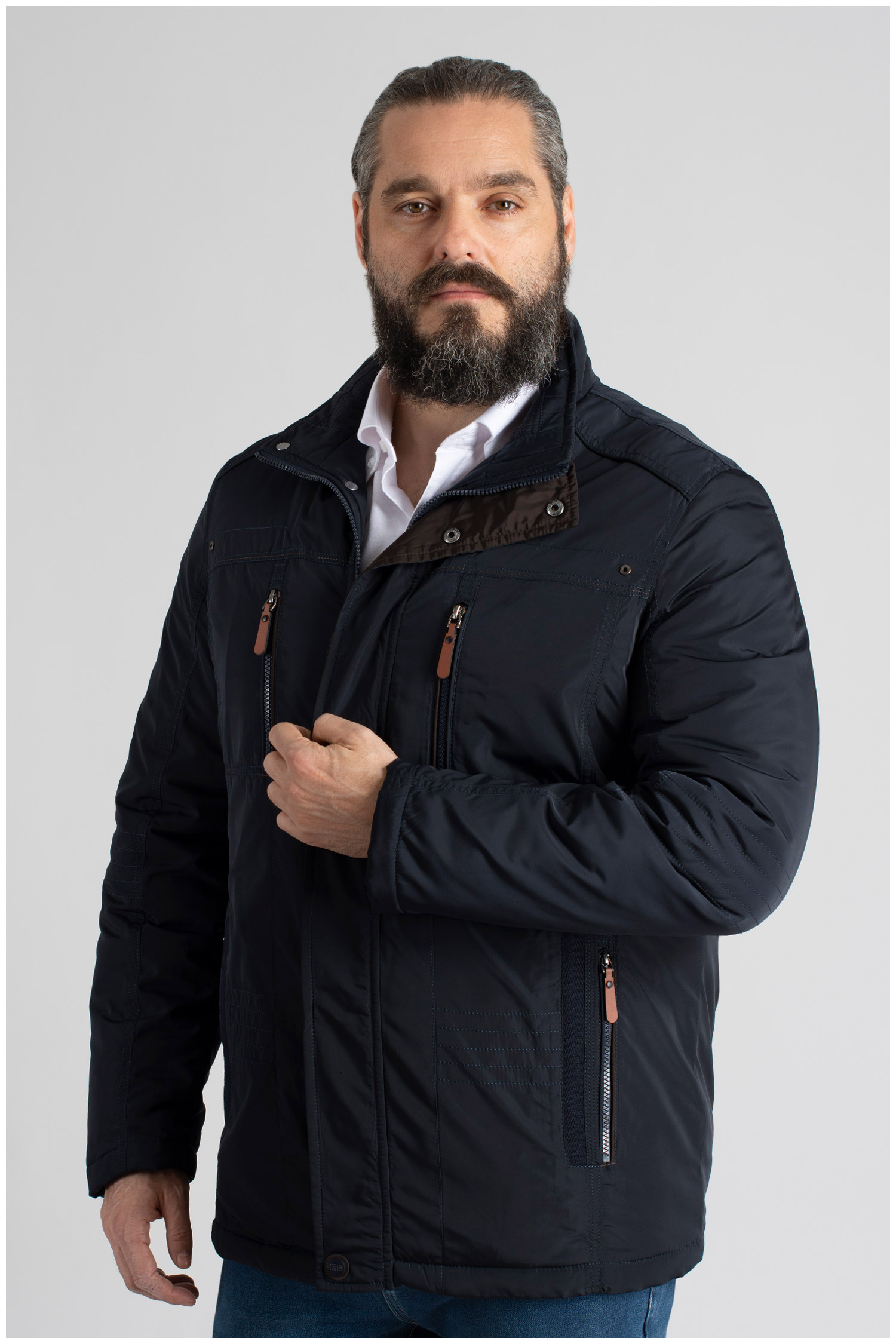 Abrigo, Chaquetones y Piel, 109792, MARINO   Zoom