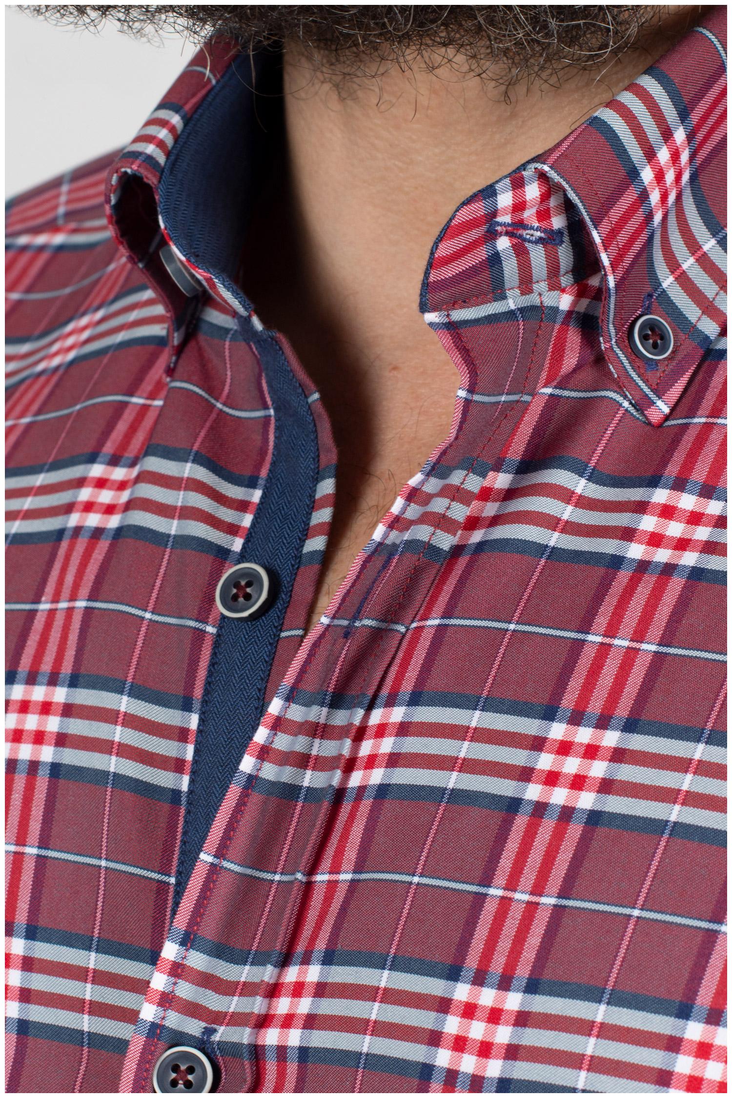 Camisas, Sport Manga Larga, 109840, GRANATE   Zoom