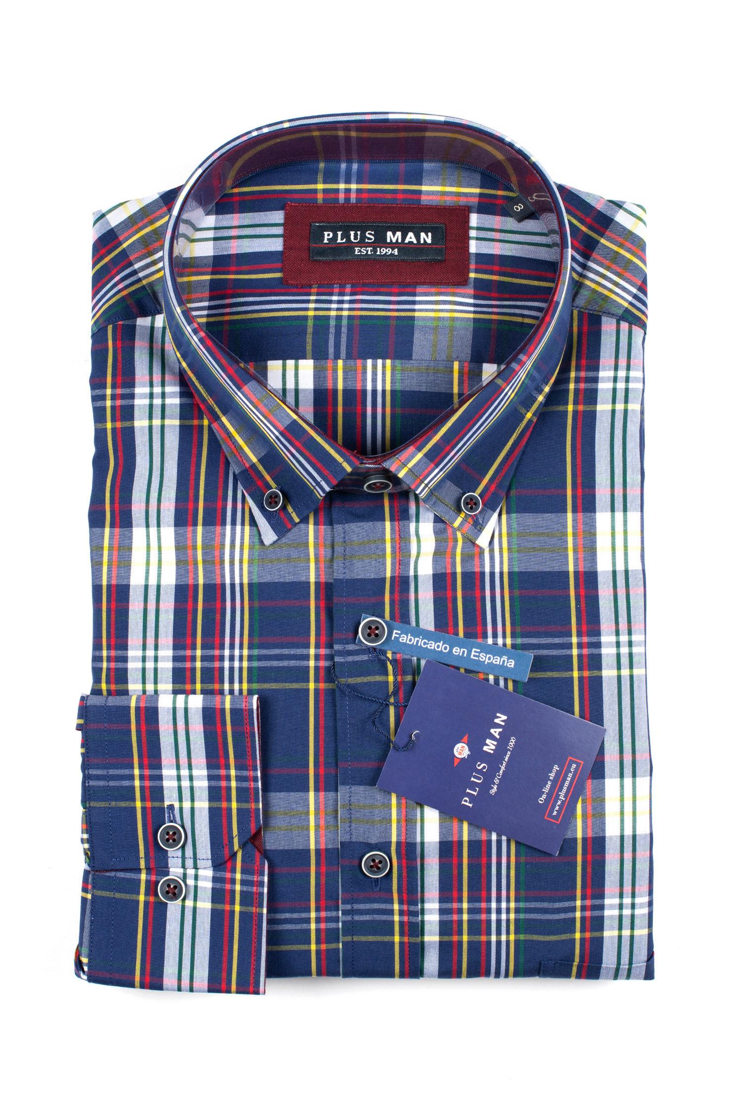 Camisas, Sport Manga Larga, 109841, MARINO | Zoom