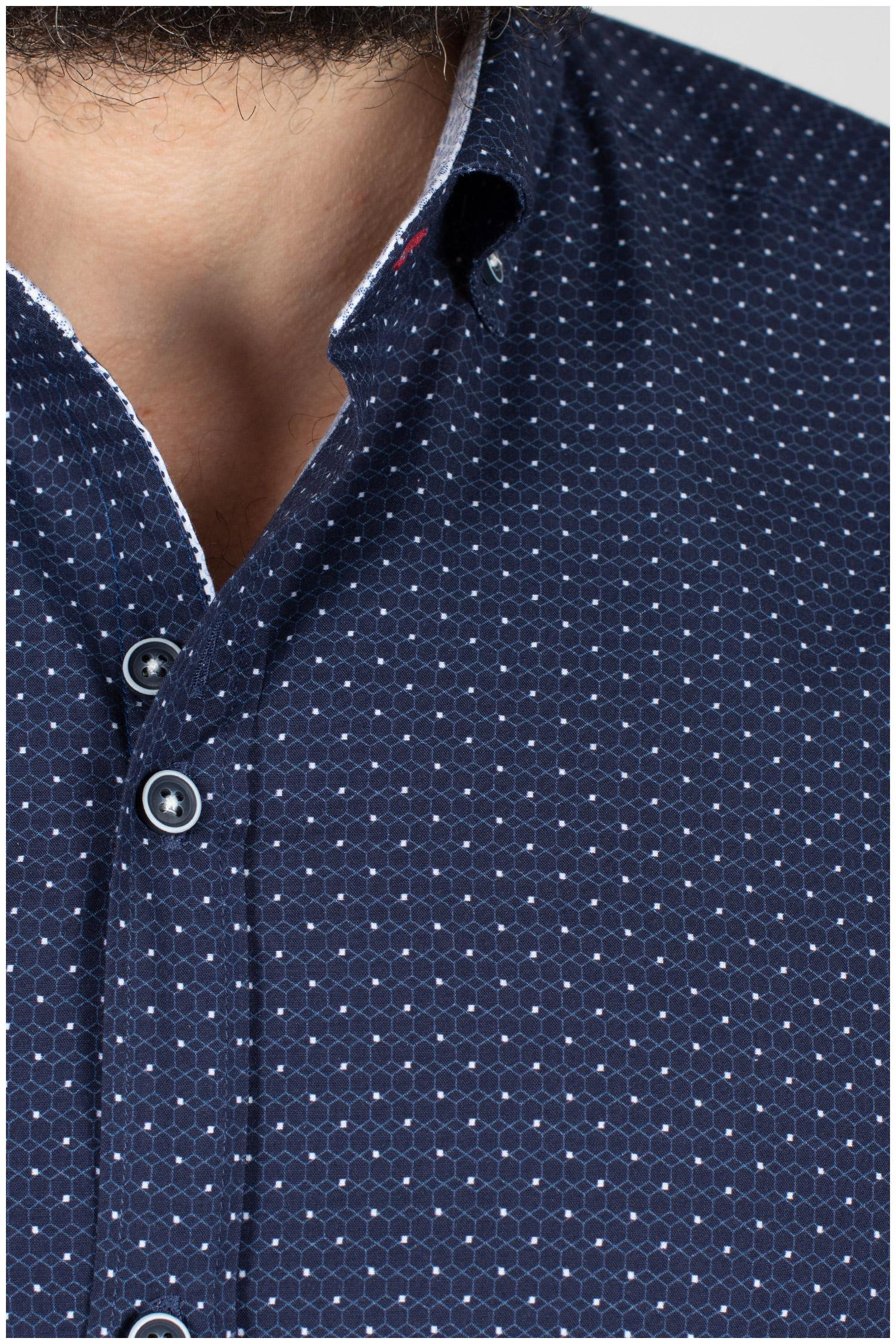 Camisas, Sport Manga Larga, 109844, MARINO | Zoom